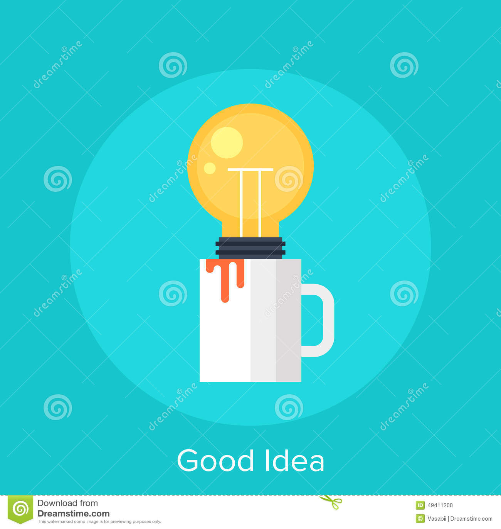 Good Idea Stock Photo Image 49411200