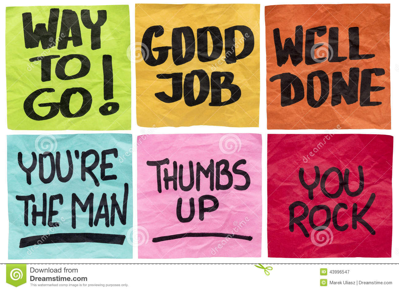 Good Job Quotes Captivating Good Job And Well Done Stock Imageimage Of Congratulation  43996547