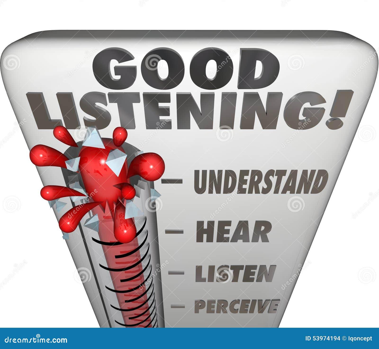 Message cautious listening