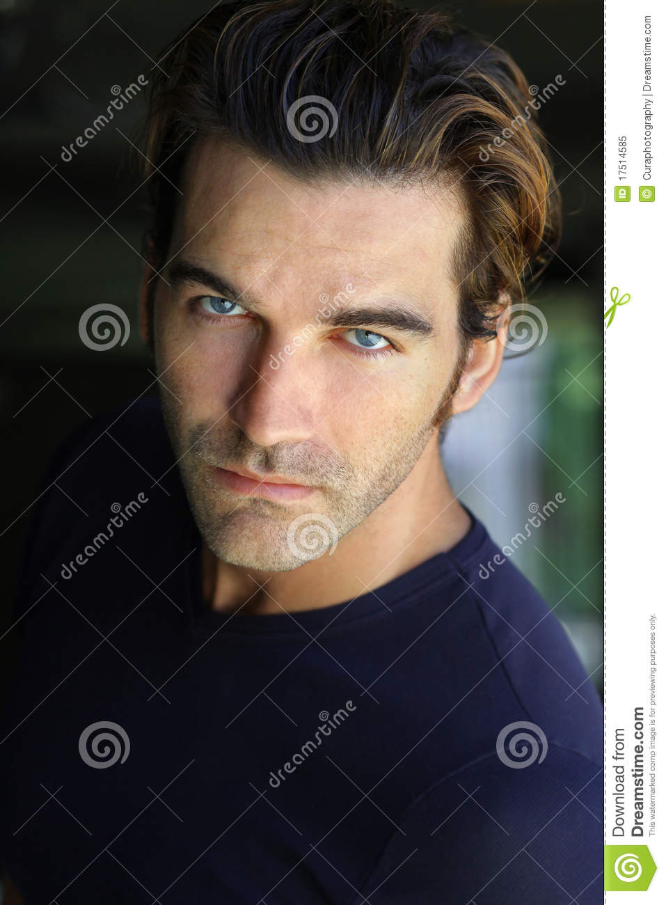 Good Looking Man Stock Image. Image Of Good, Expressive