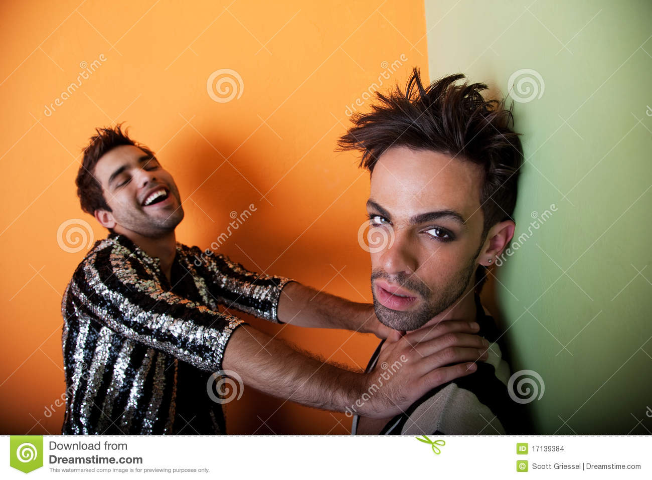 Gay Sexy Download in good looking and gay couple stock photo - image: 17139384