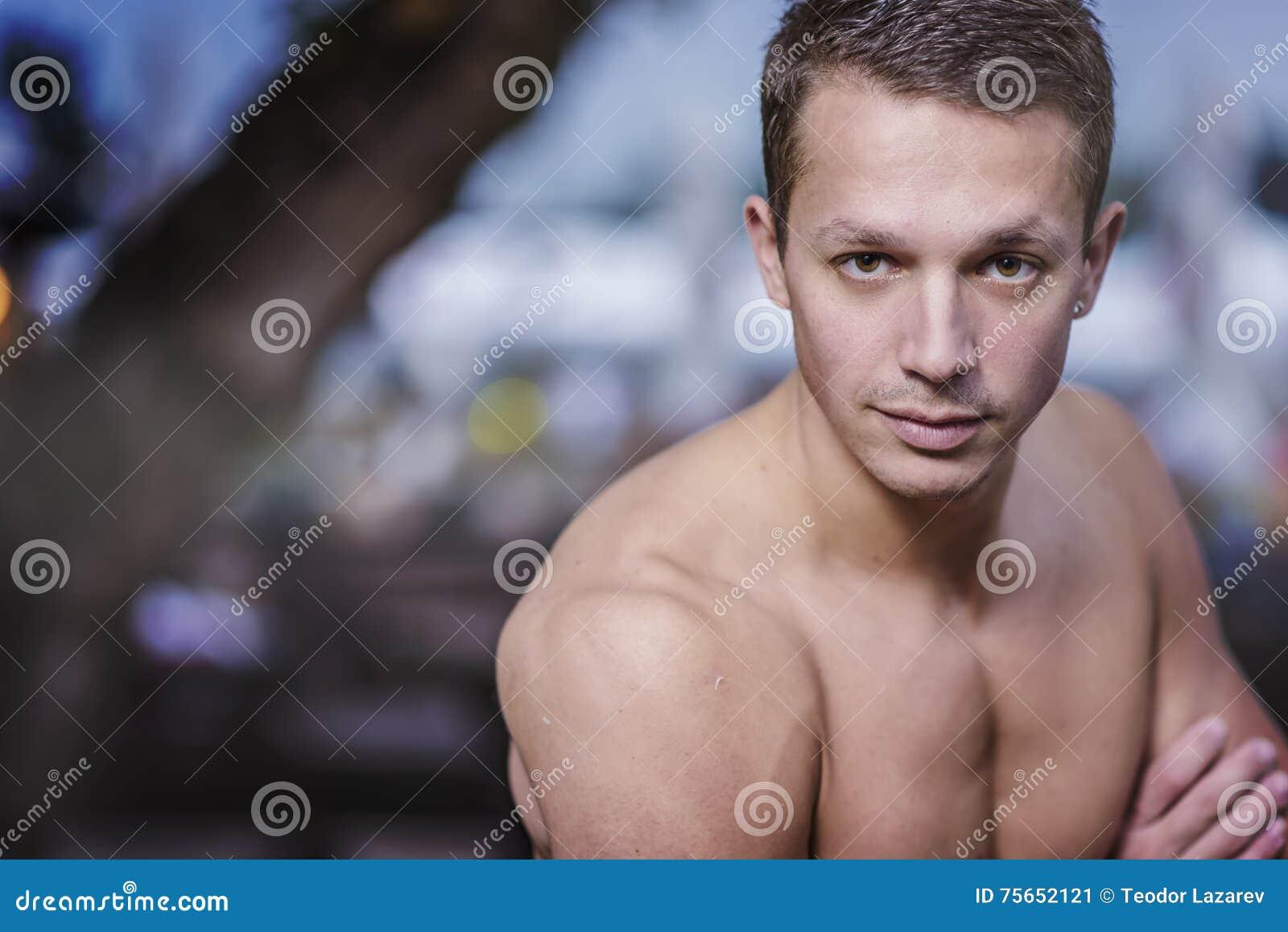 Good looking man