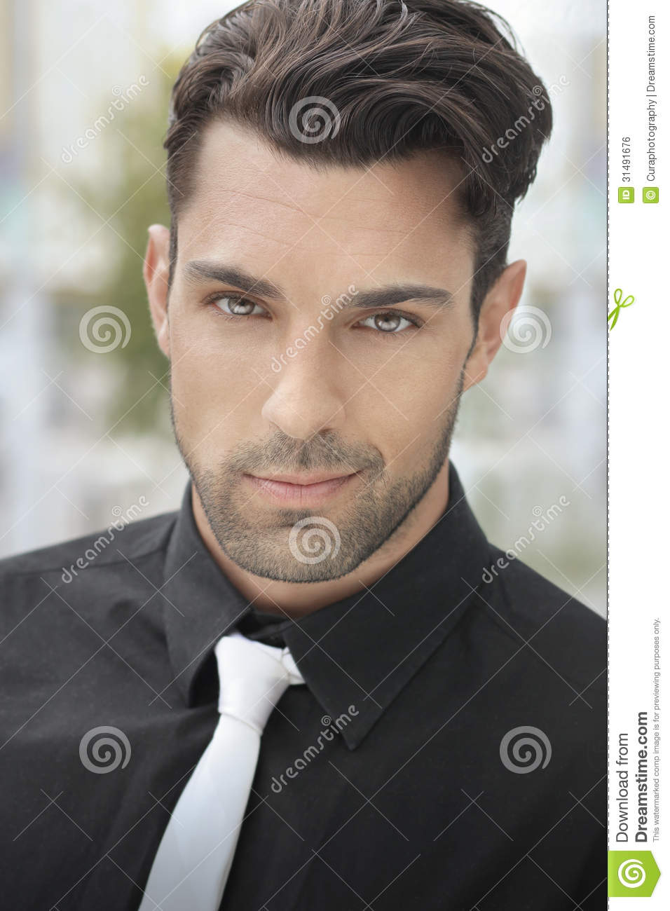 Good-looking Young Man Royalty Free Stock Image - Image ...  Good Looking Young Man