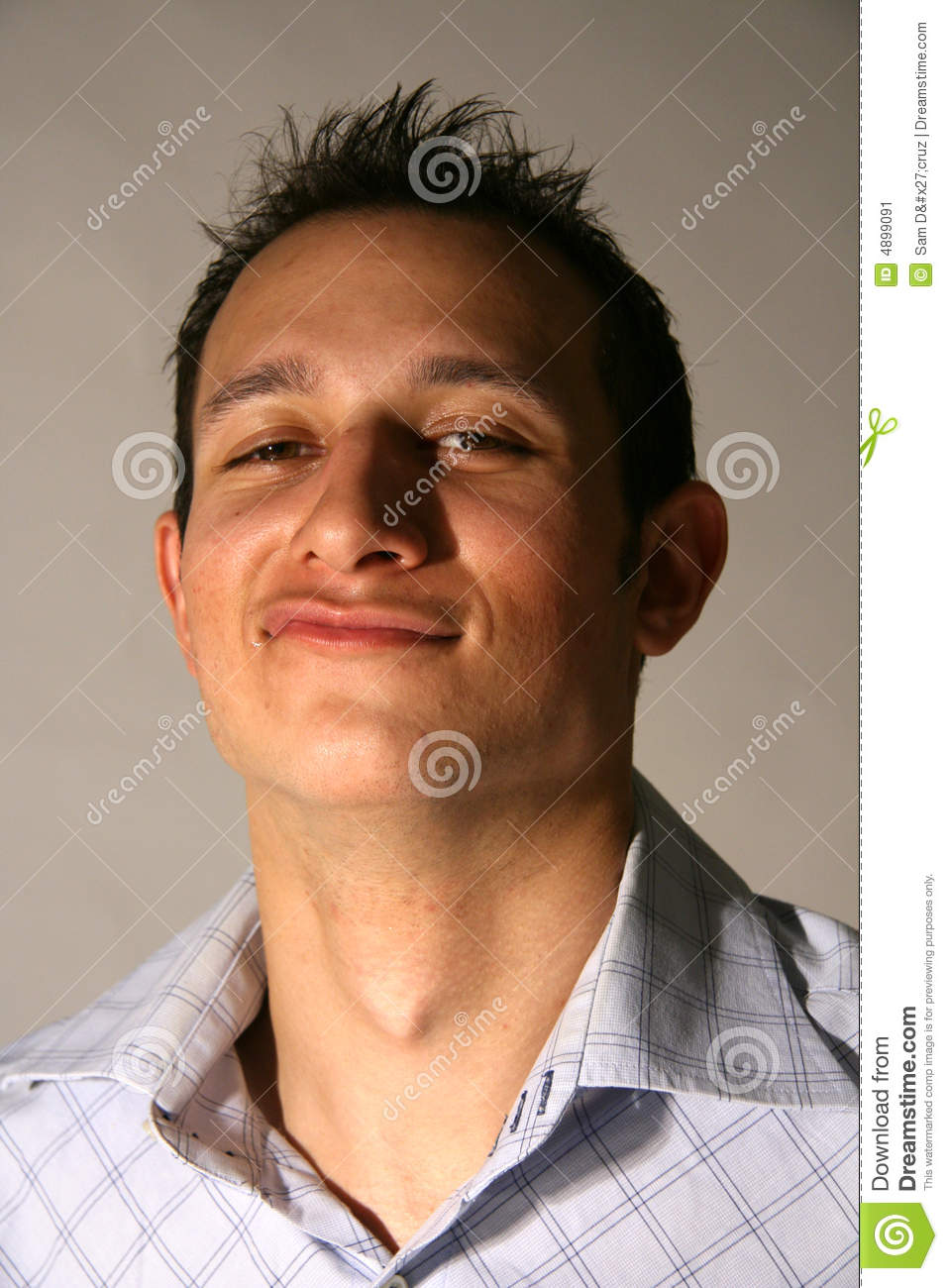 Good Looking Young Man Sneer Stock Image - Image: 4899091  Good Looking Young Man