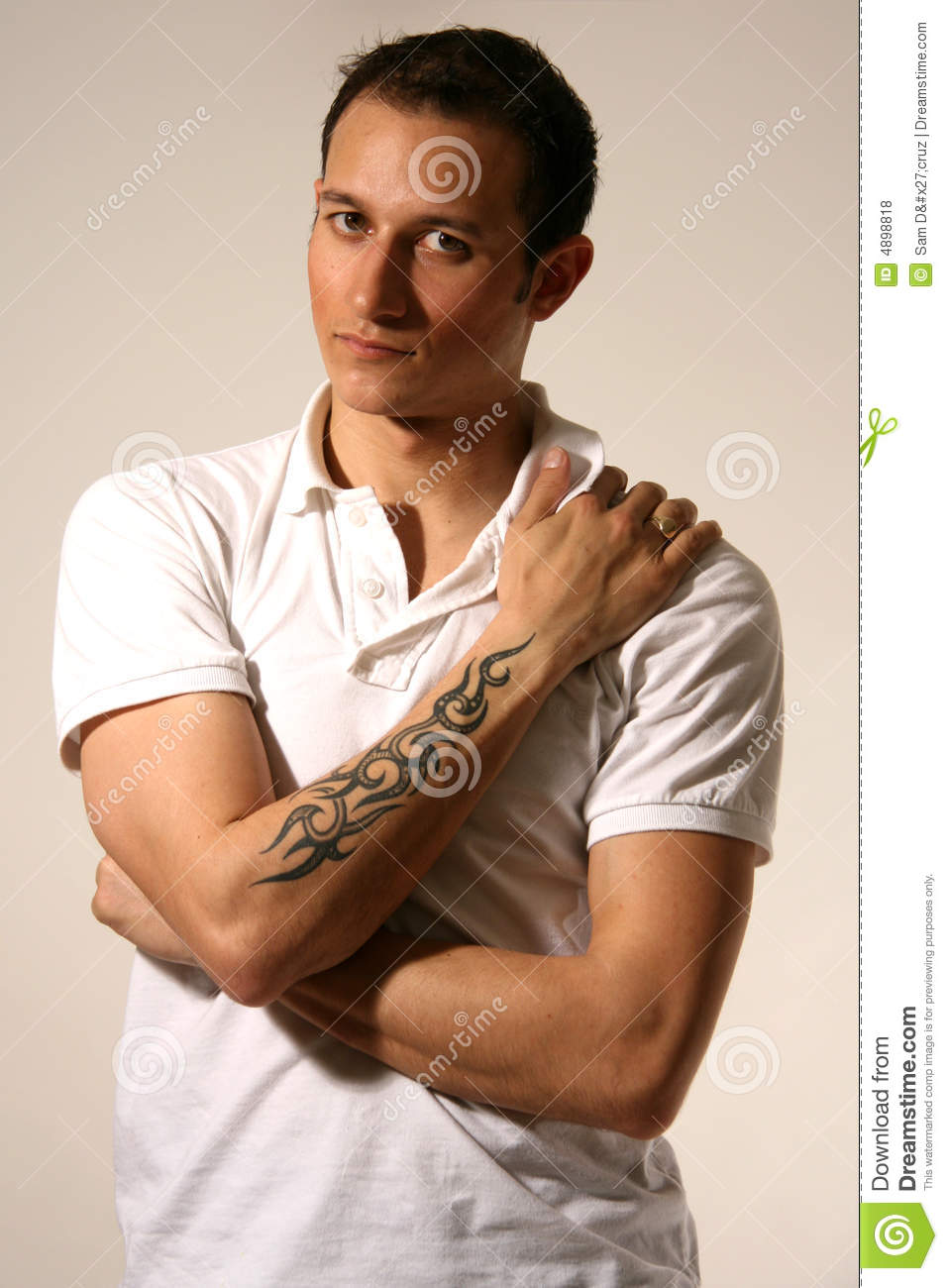 Good Looking Young Man In Studio Royalty Free Stock Photos ...  Good Looking Young Man