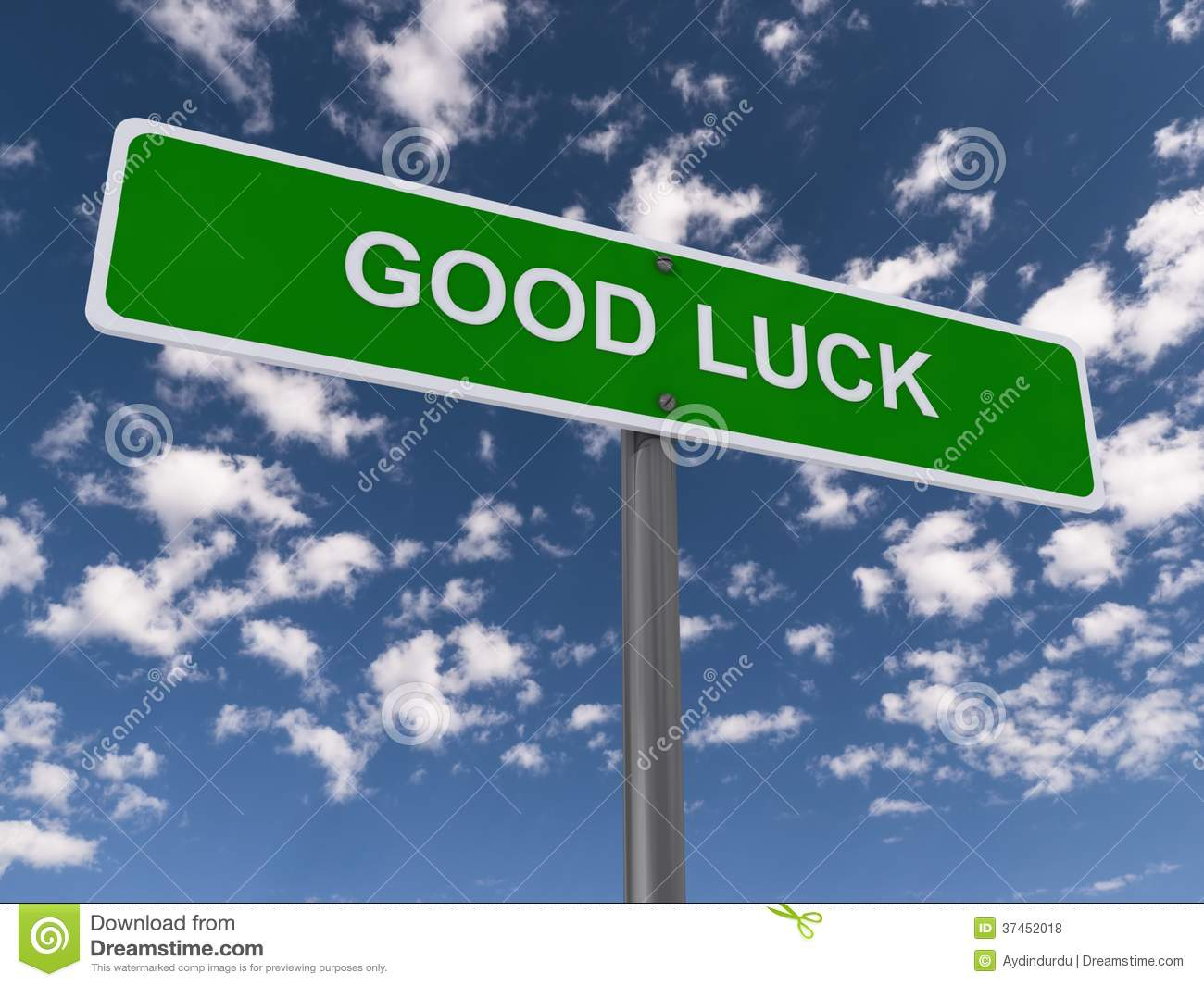 Good Luck Sign Royalty Free Stock Photos - Image: 37452018