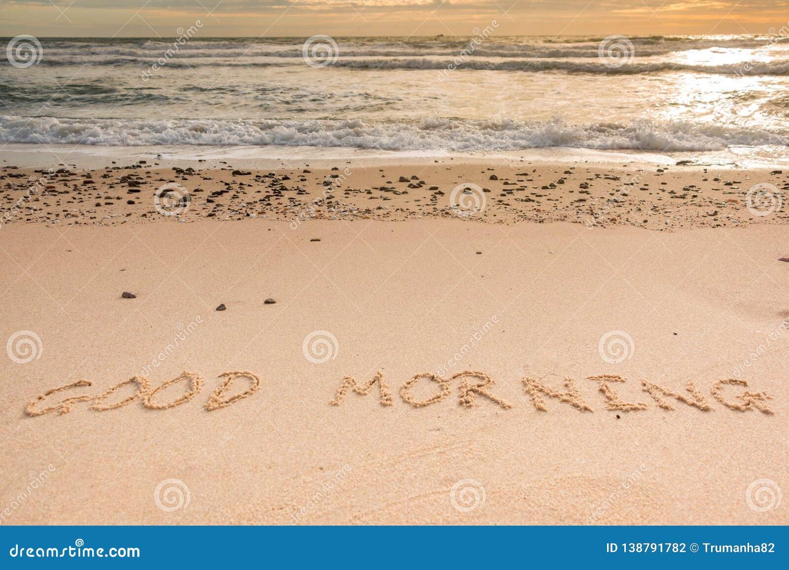 Good Morning at Beach