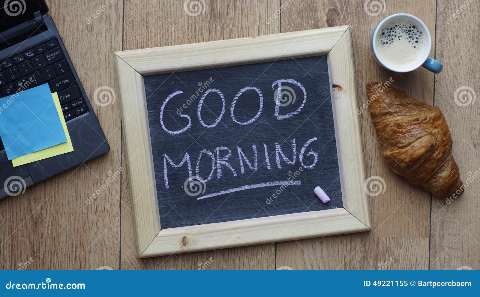 Good Morning Breakfast Stock Photo - Image: 49221155