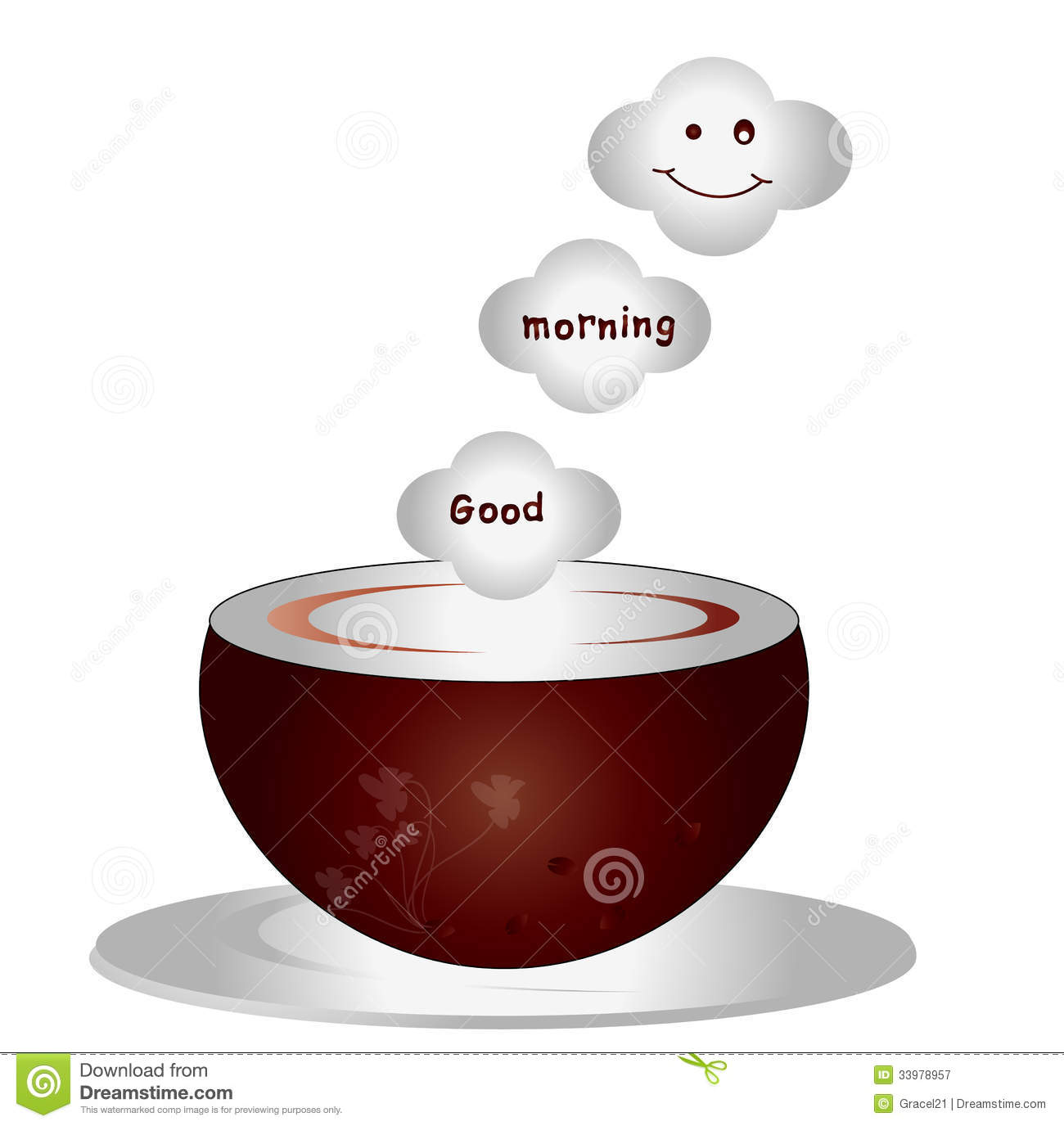 Good Morning stock vector. Illustration of concept, decoration ...