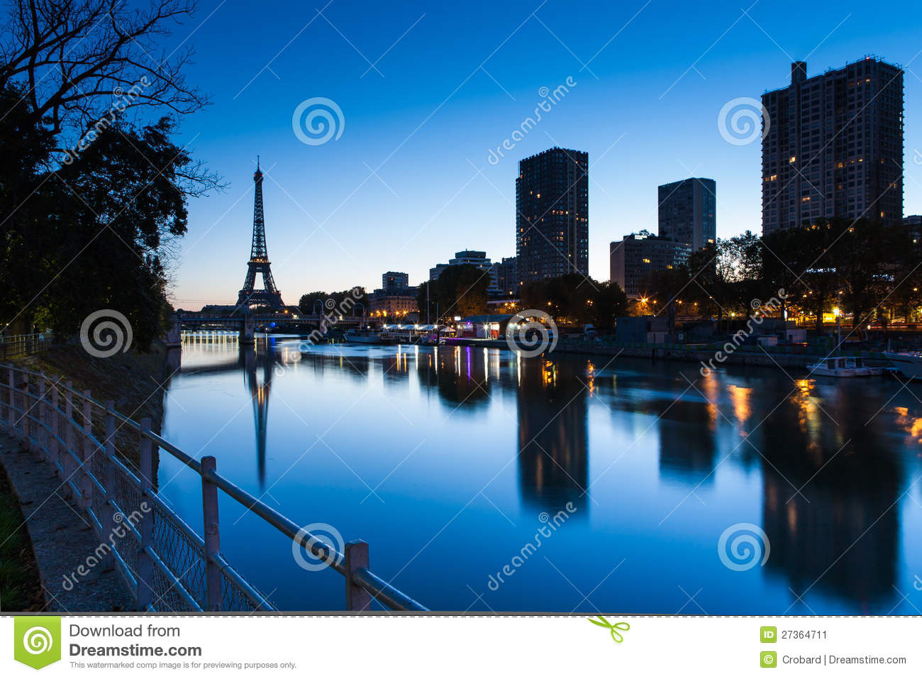 good morning eiffel paris france stock image image of morning cityscape 27364711. Black Bedroom Furniture Sets. Home Design Ideas