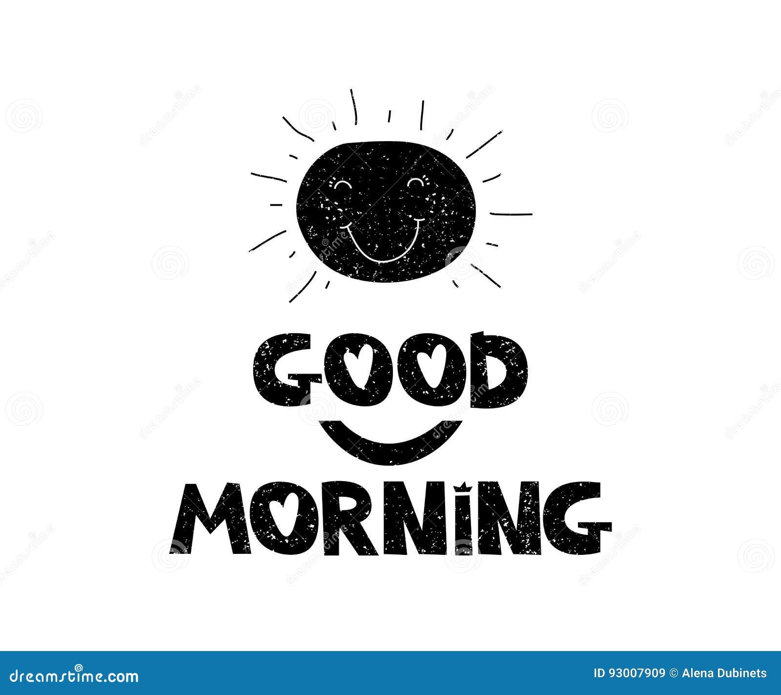 Print Good Morning