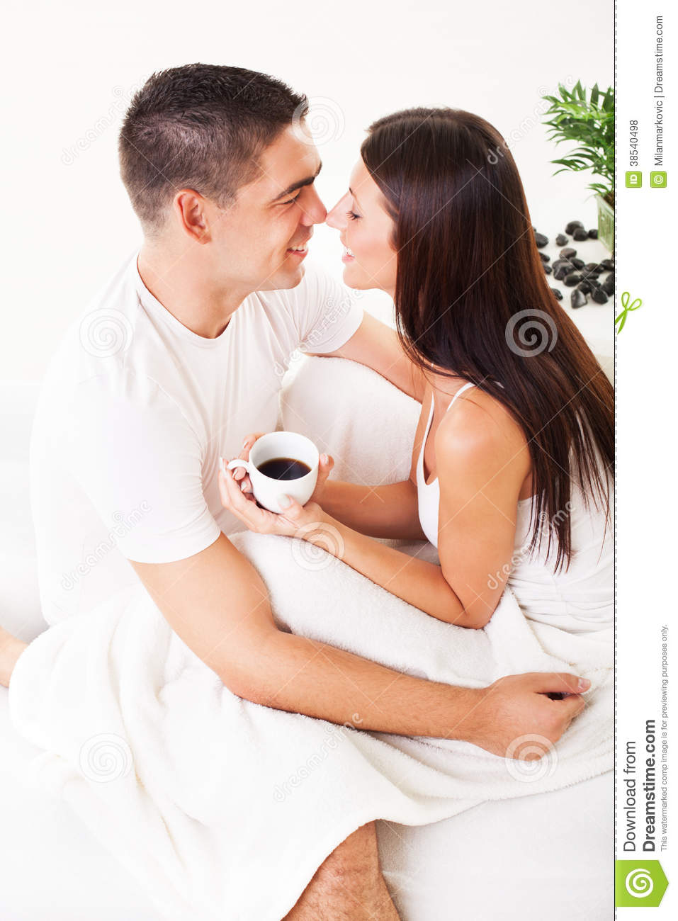 Good Morning Stock Photo Image Of Bedroom Coffee Cheerful