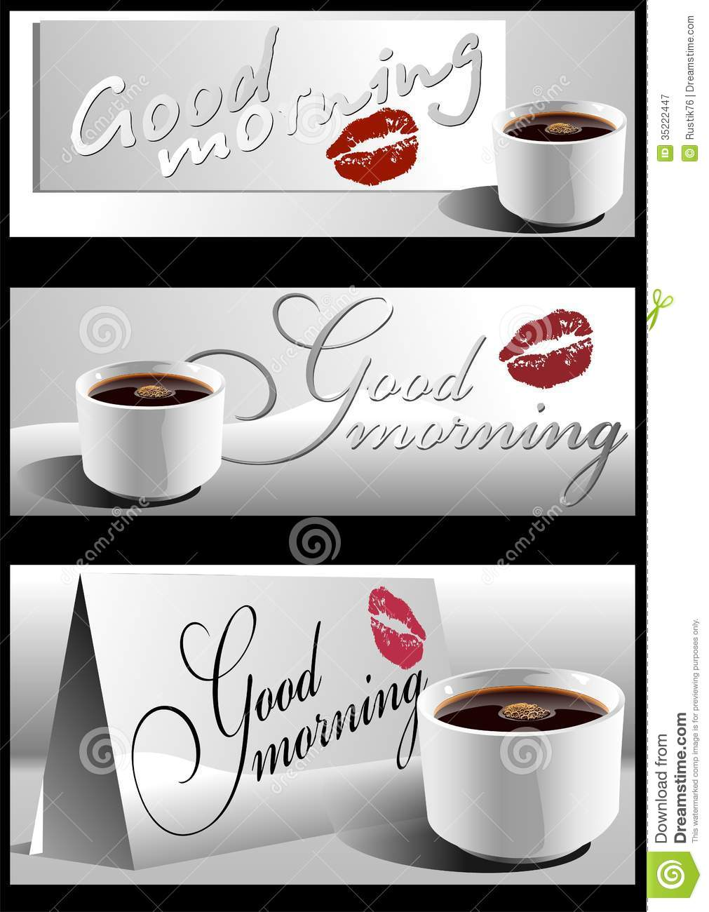 Good Morning 01 Vector Stock Vector Illustration Of Care 35222447
