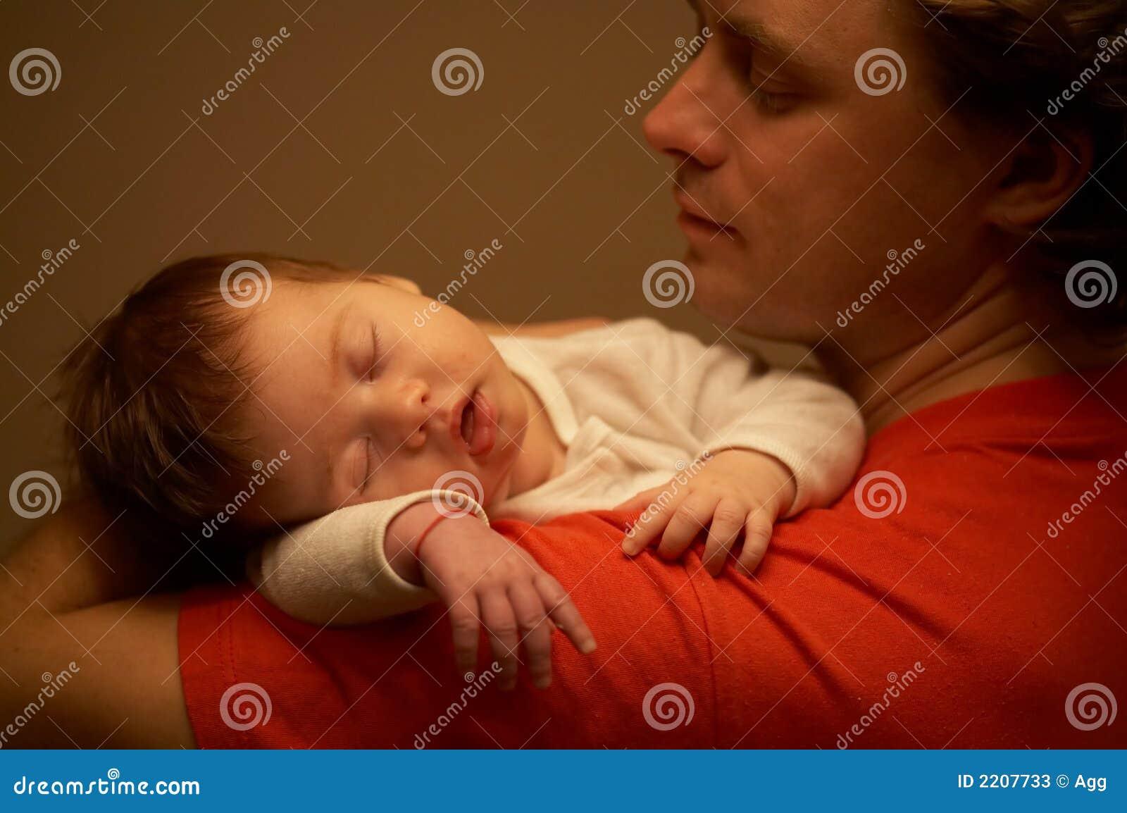 Good night! baby! stock image  Image of love, sleeper - 2207733