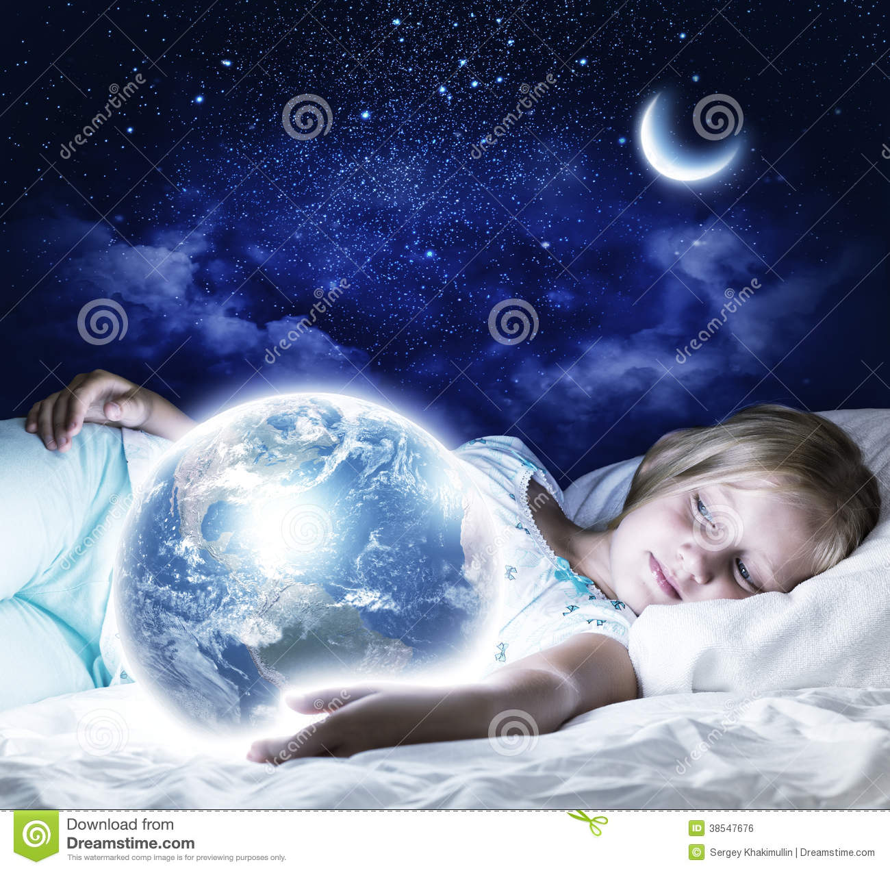 Good Night Stock Photo Image Of Color Relaxing Little