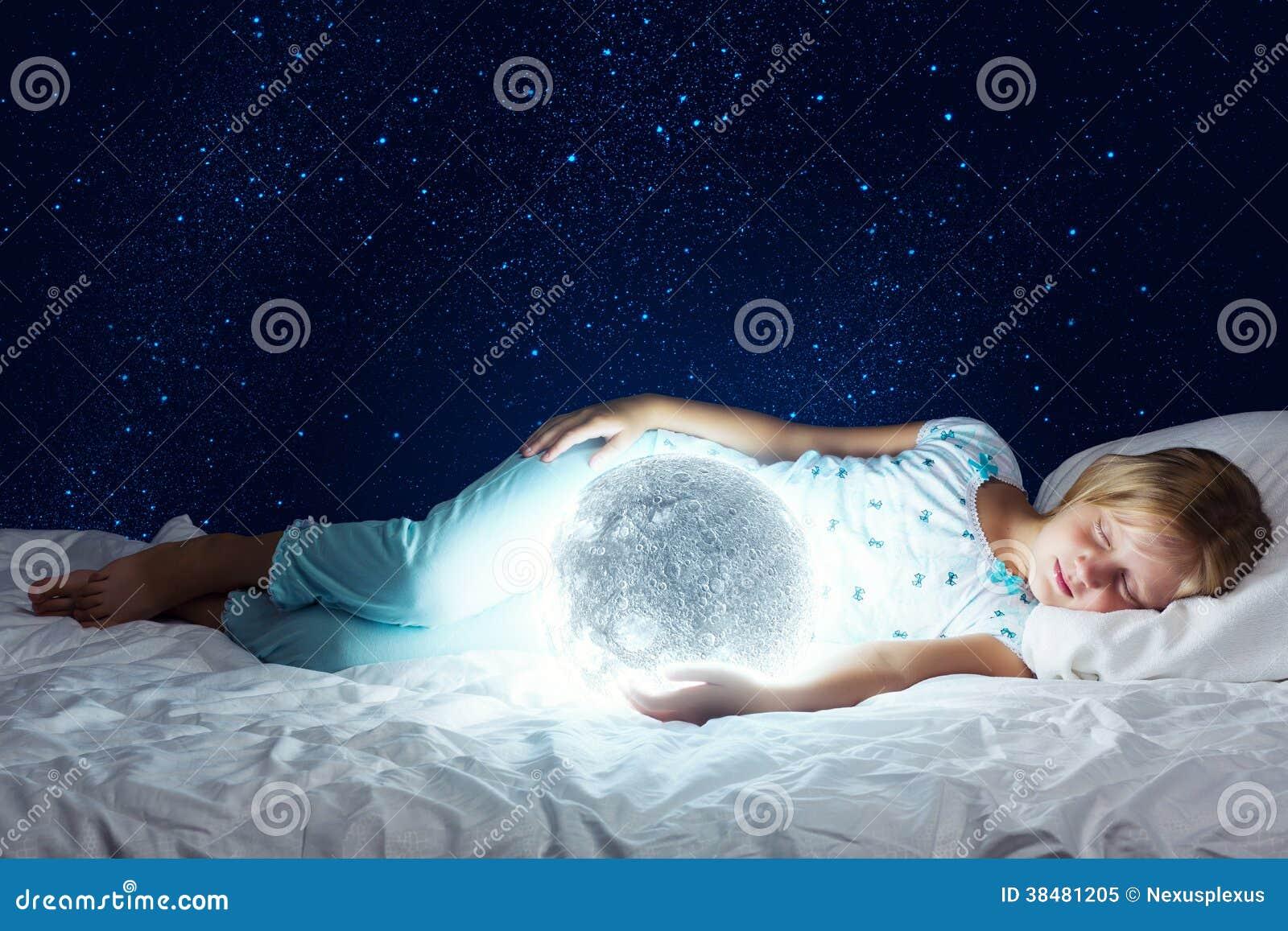 Good Night Stock Image Image Of Bedroom Moon Bright