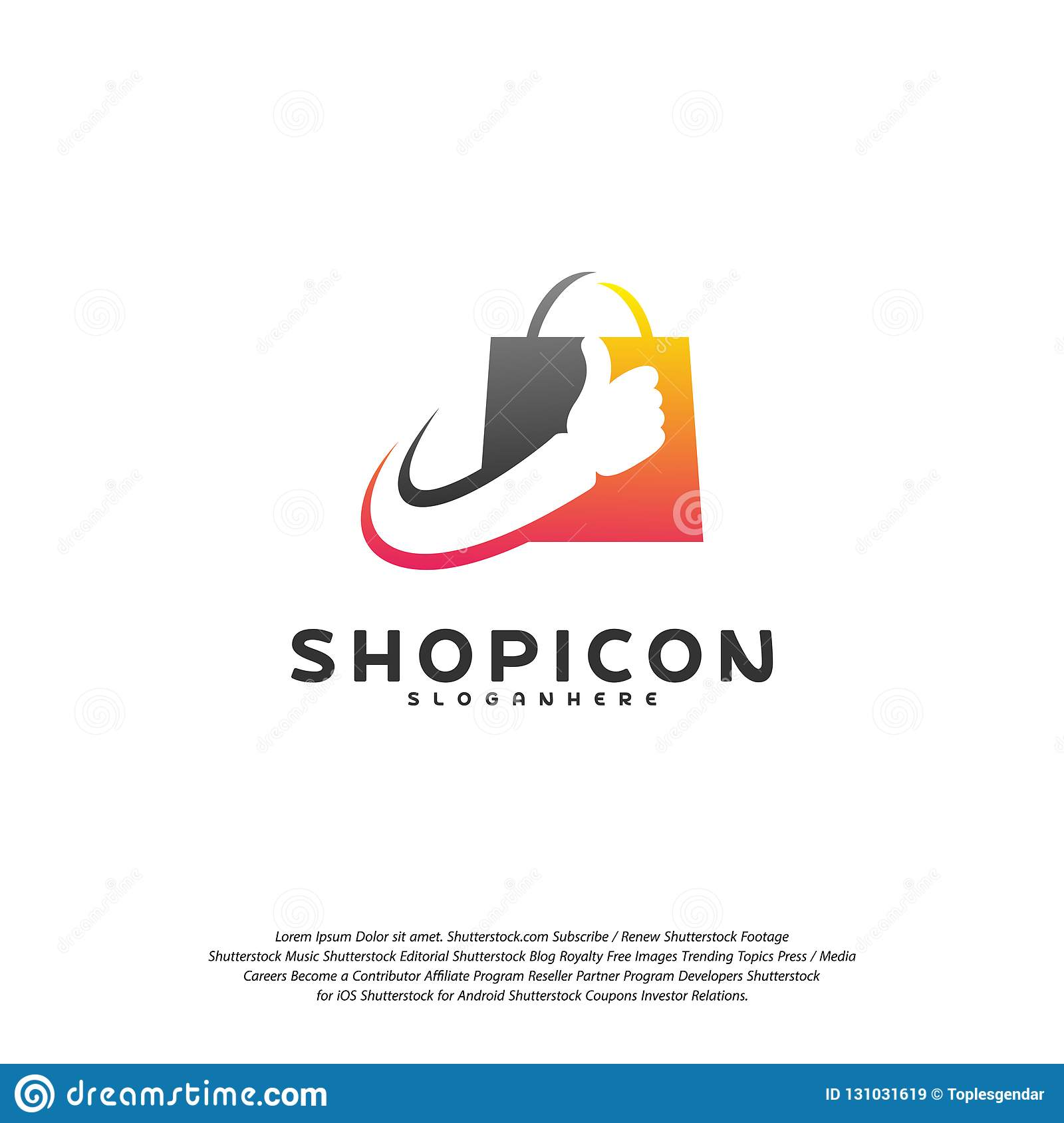 quite nice variety design presenting Good Shop Logo Template Design Vector. Great Shop Logo ...