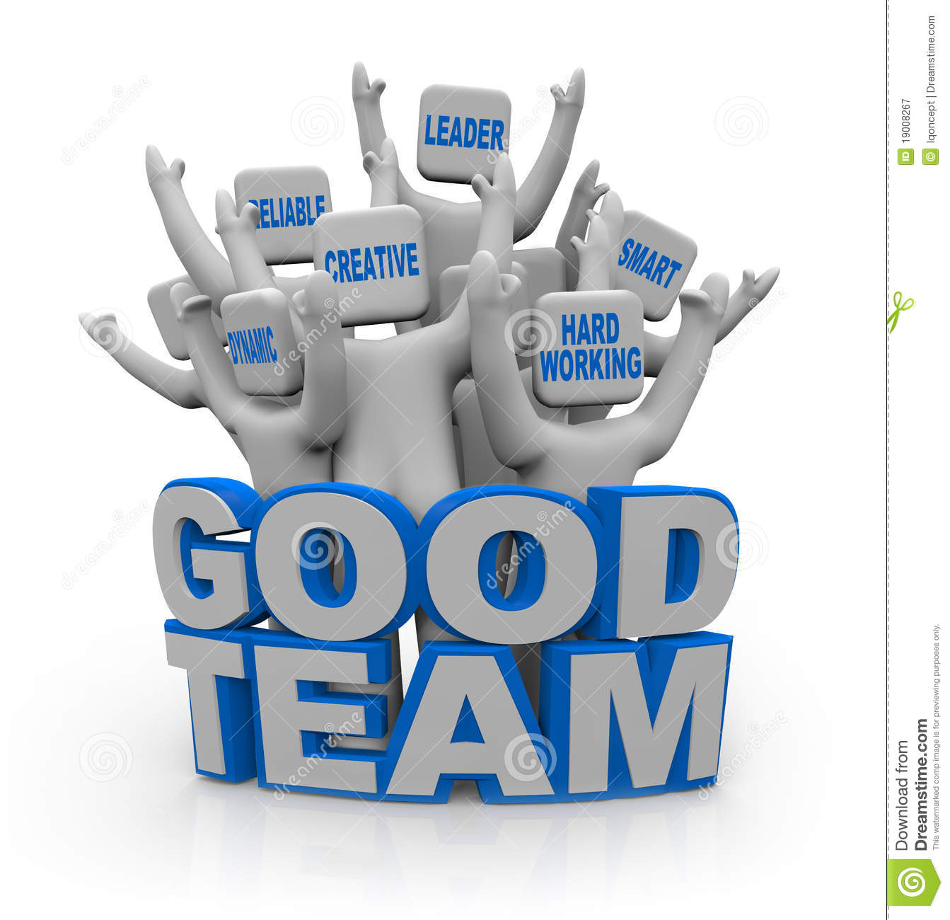 Free Stock Photography: Good Team - People with Teamwork Qualities