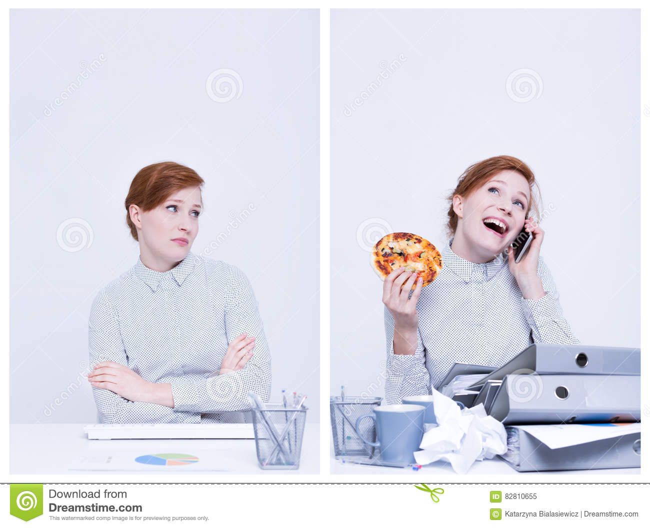 good worker boss praises businessman stock illustration image good worker and bad worker royalty stock photo
