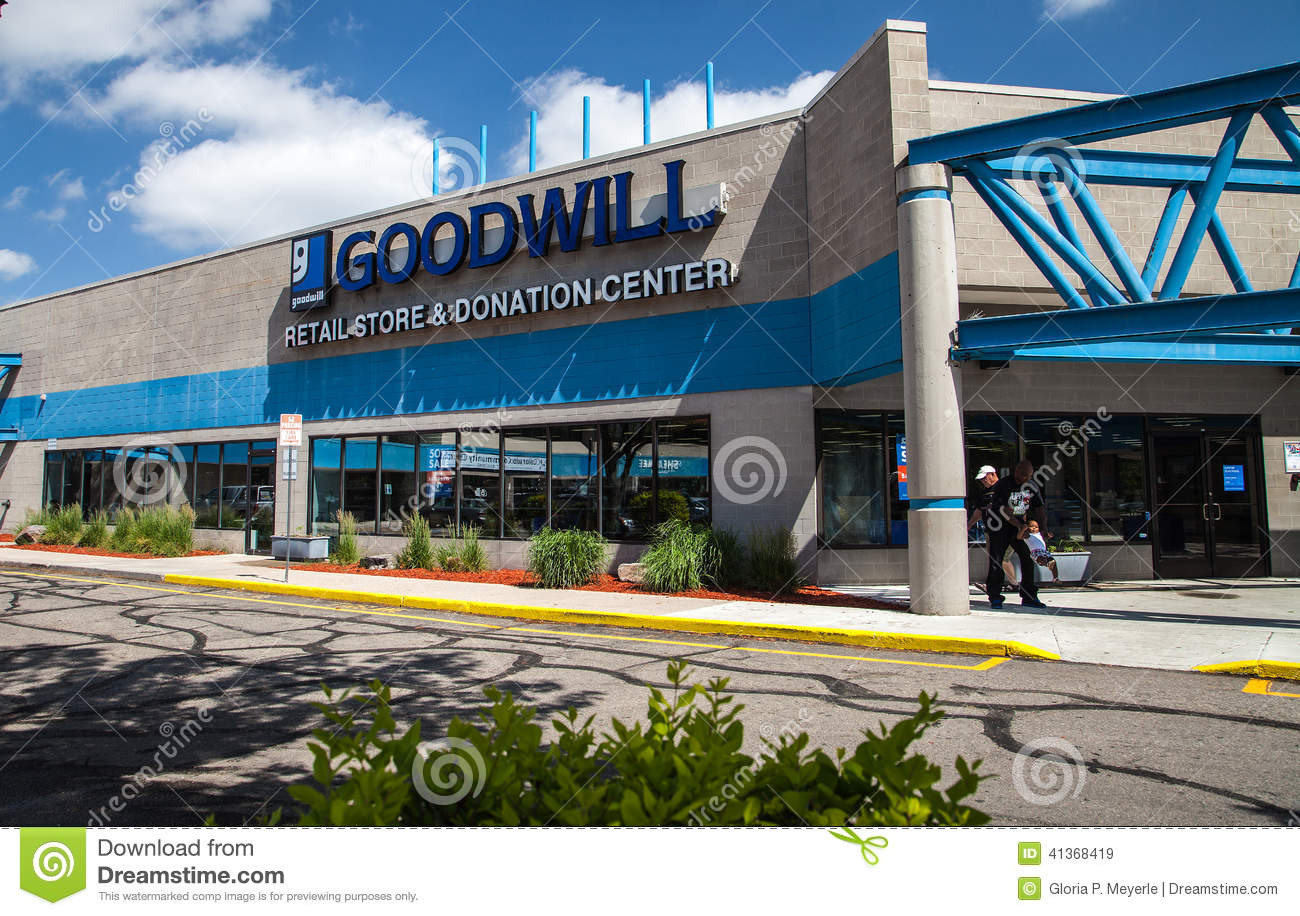 Goodwill Store in Colorado editorial stock image  Image of exterior