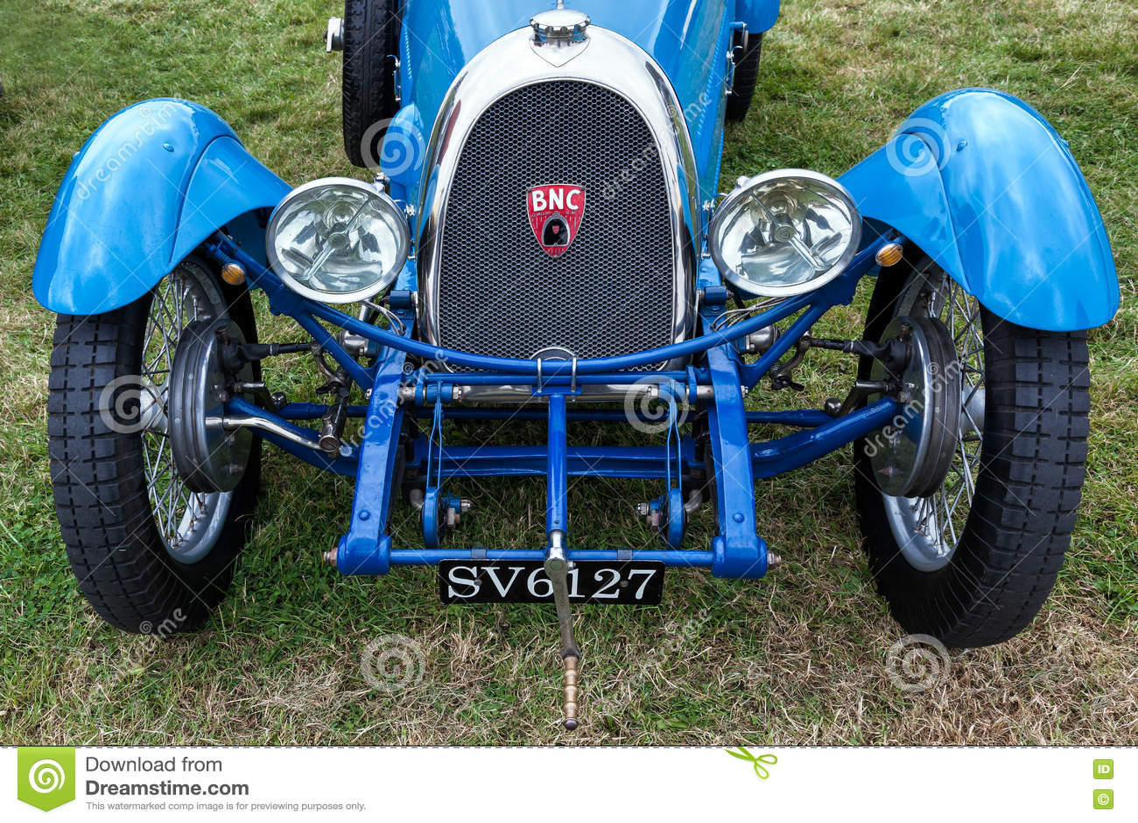 GOODWOOD, WEST SUSSEX/UK - SEPTEMBER 14 : Bollack Netter and Cie Roadster parked in car park at Goodwood on SEPTEMBER 14, 2012