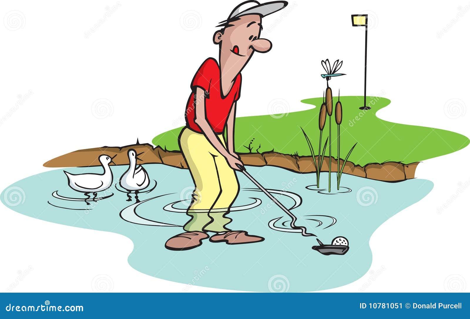 Goofy golfspeler 5