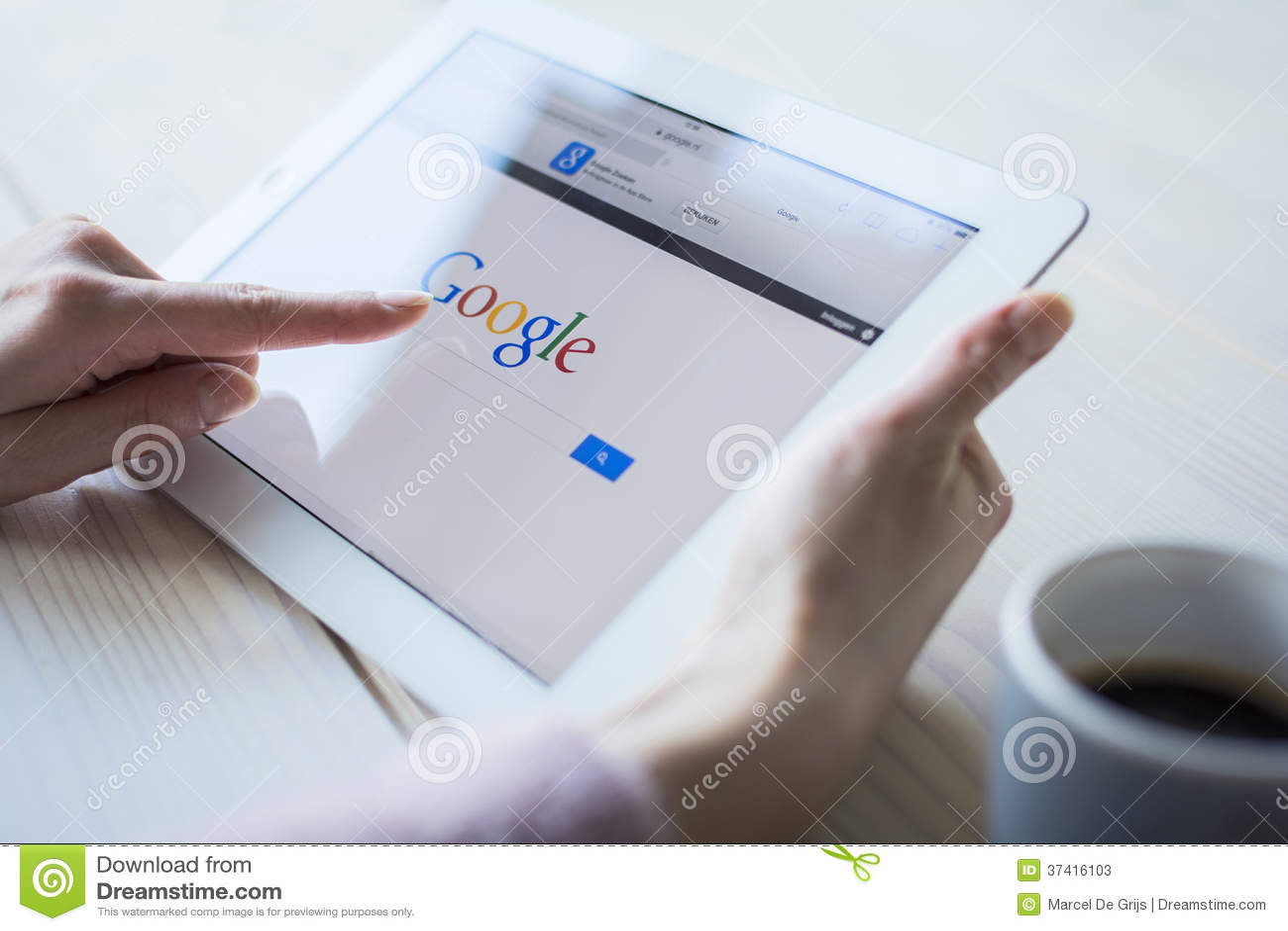 Google на ipad
