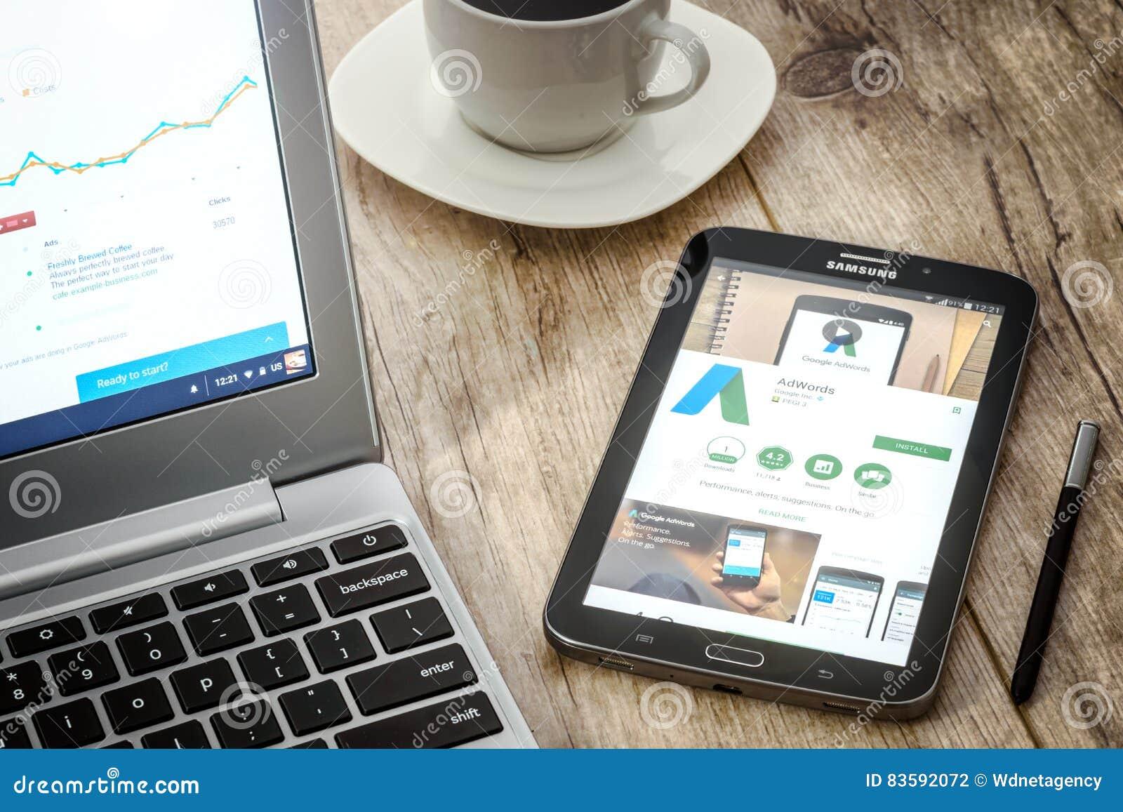 Google AdWords zastosowanie
