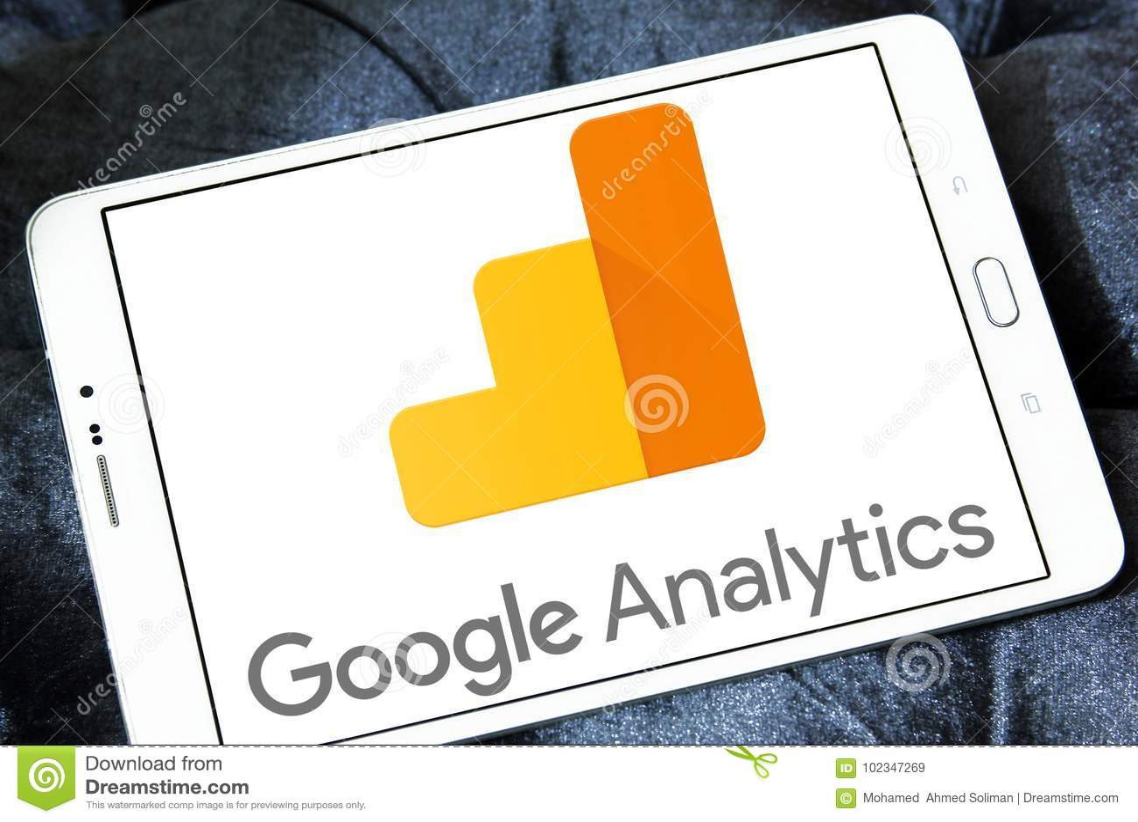 Google Analytics logo editorial stock image  Image of data - 102347269