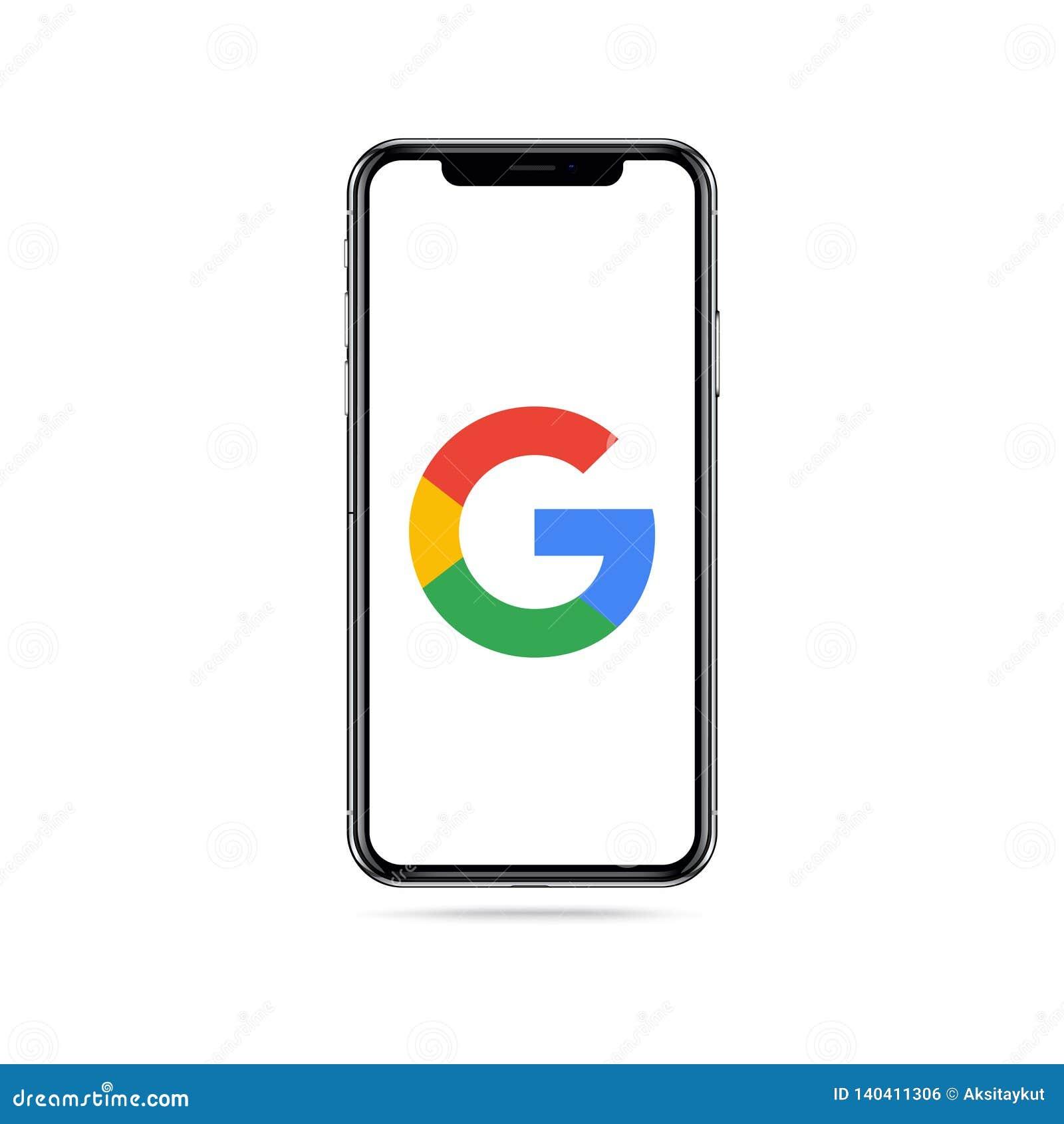 Google-Appikonenlogo auf iphone Schirm