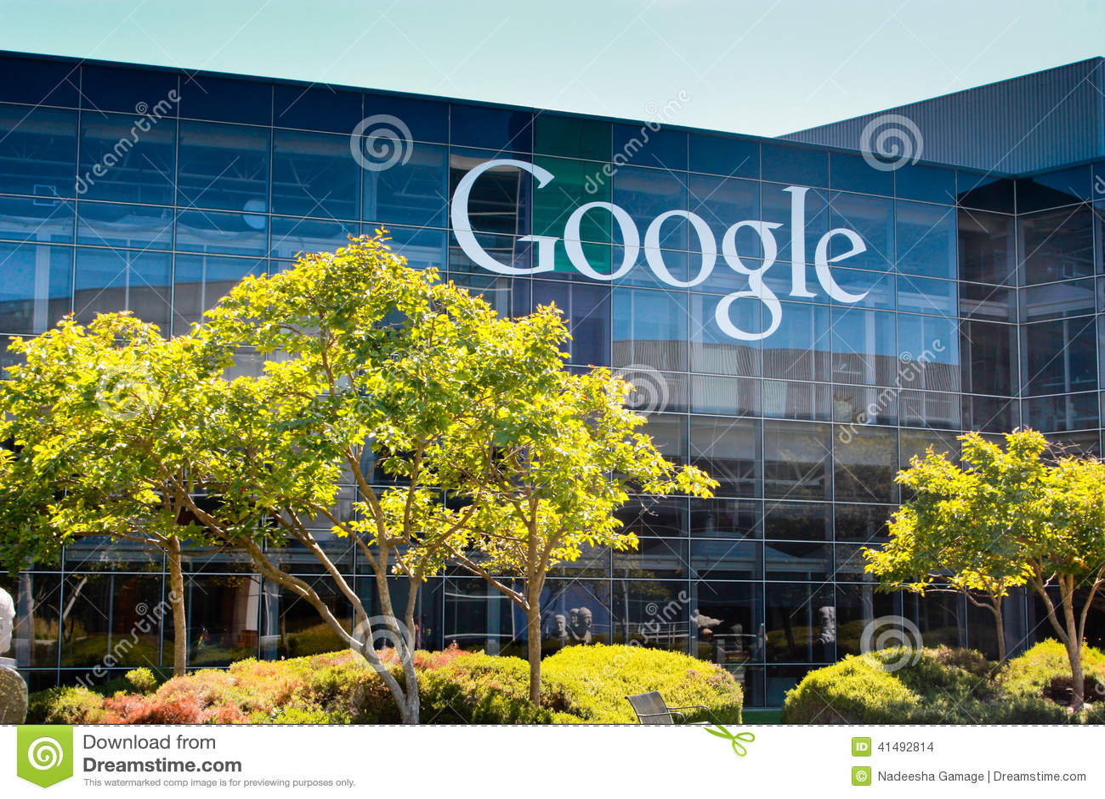 Google Corporate Headquarters Editorial Stock Image - Image: 41492814