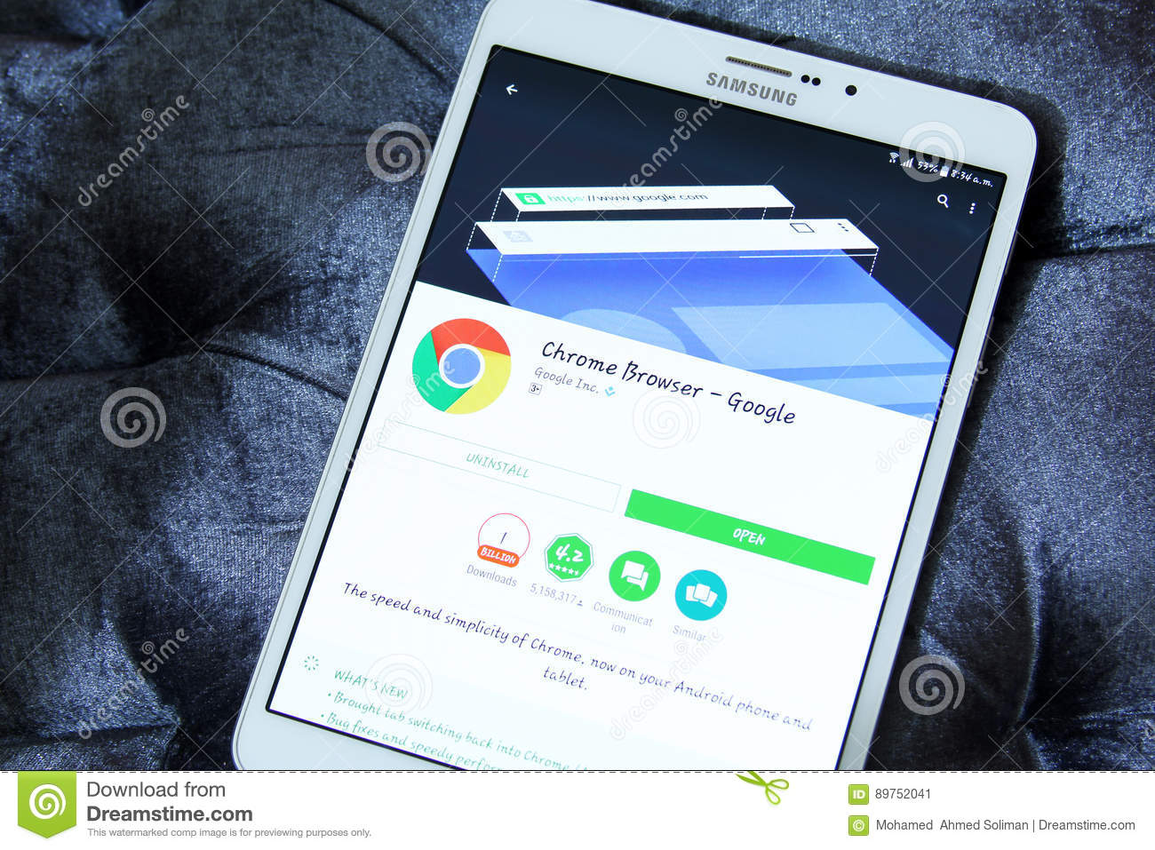 Google Chrome Web Browser App Editorial Photo - Image of google