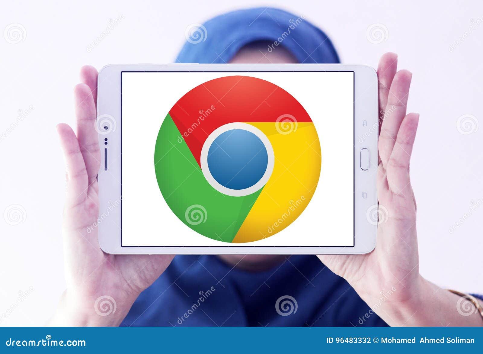 Google Chrome Web Browser Logo Editorial Photography - Image