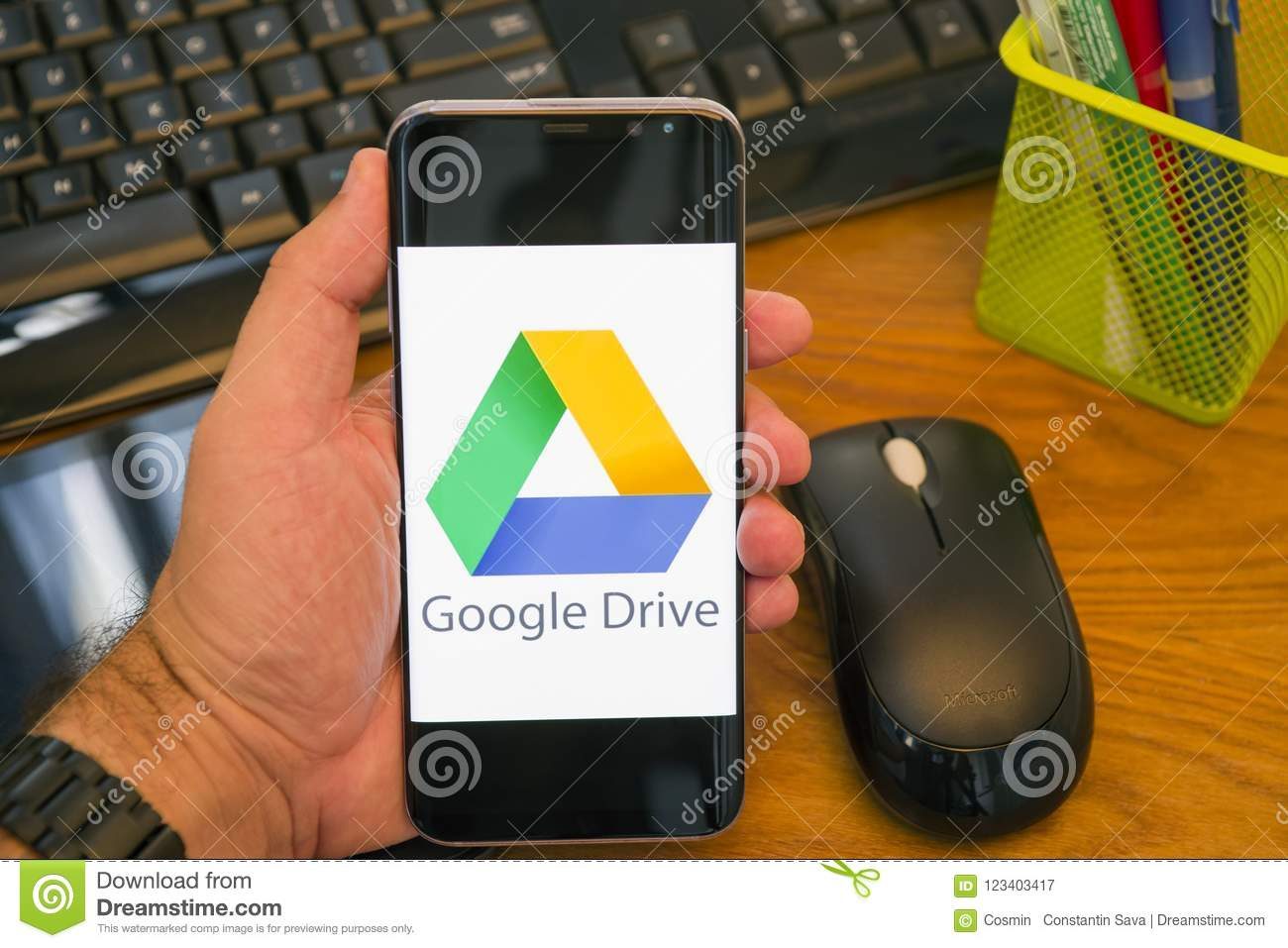 download to google drive android