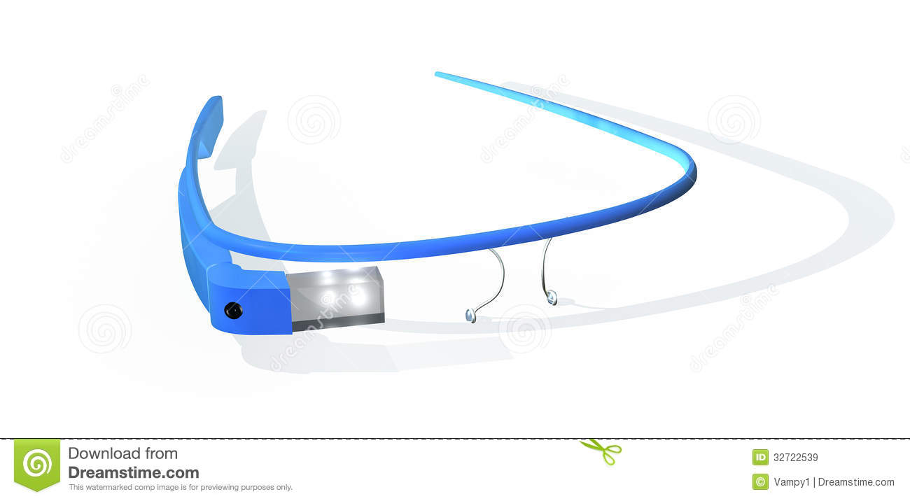 Google glass stock illustration illustration of glasses 32722539 google glass ccuart Choice Image