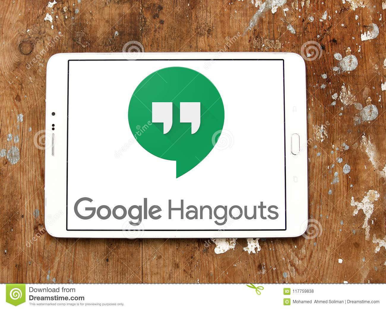 Google Hangouts logo editorial stock photo  Image of famous - 117759838