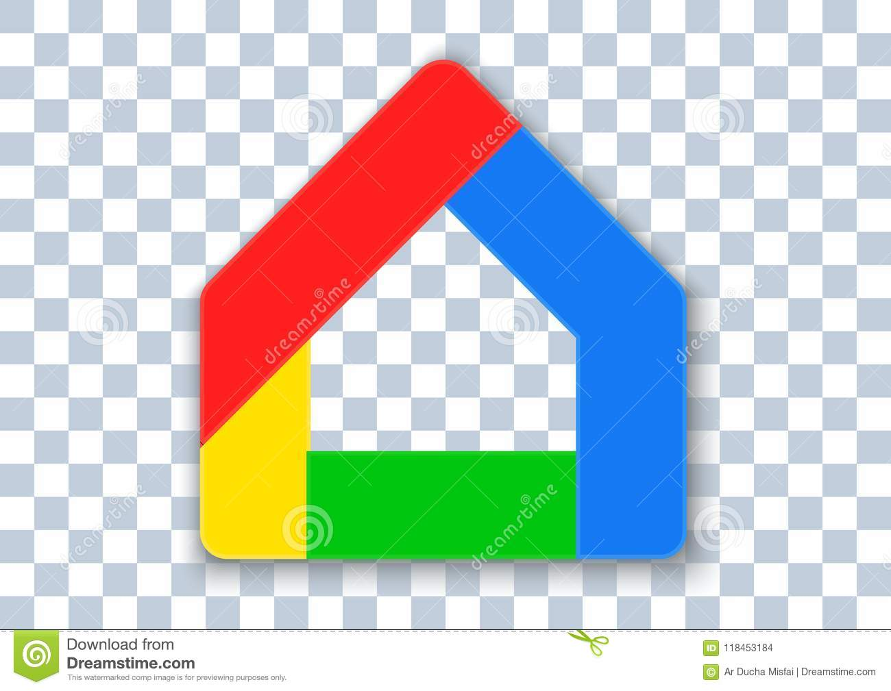 Google home apk icon editorial stock image  Illustration of