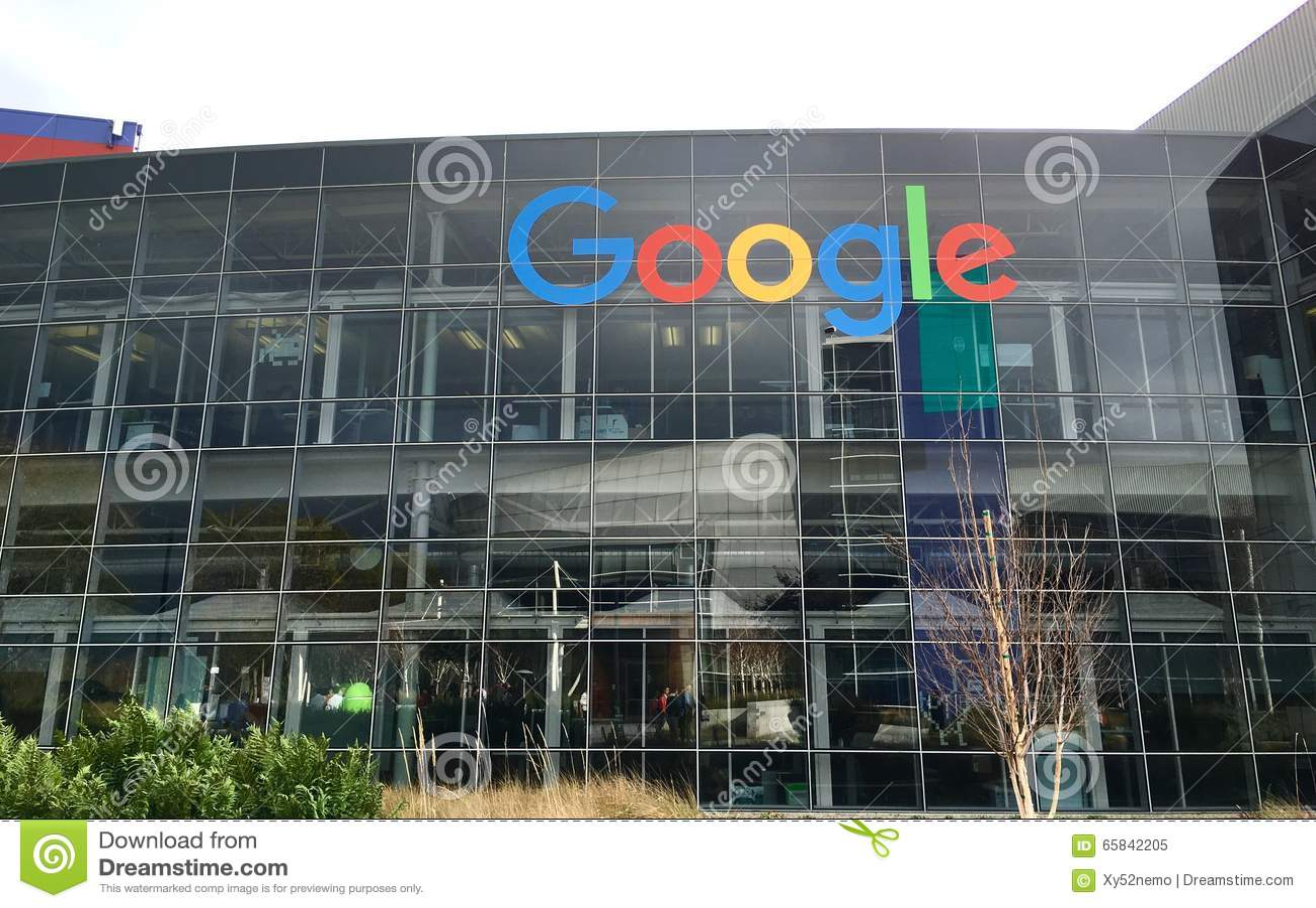 Google logo editorial image image 65842205 for Google house builder