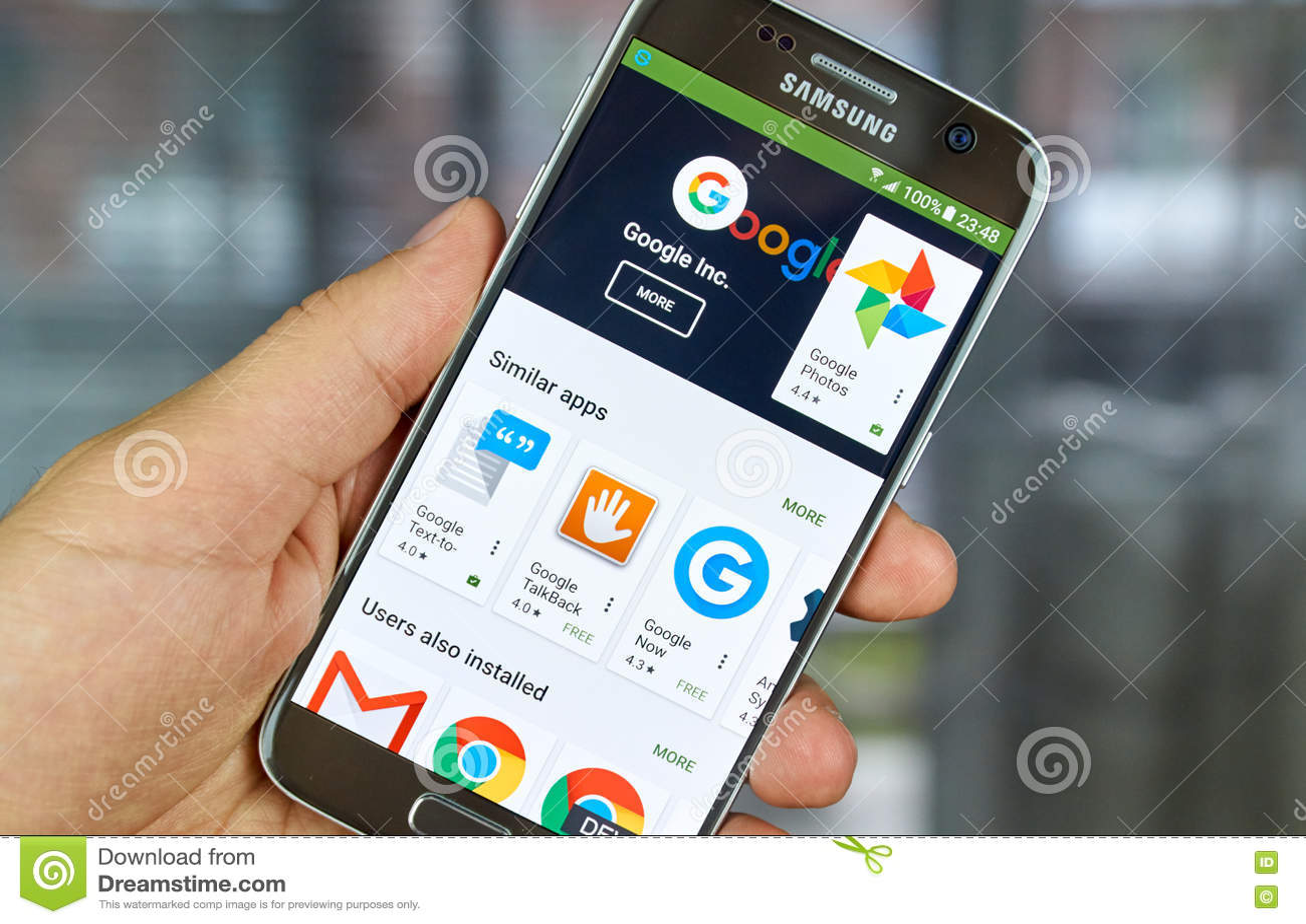 Google-Logo und -anwendungen