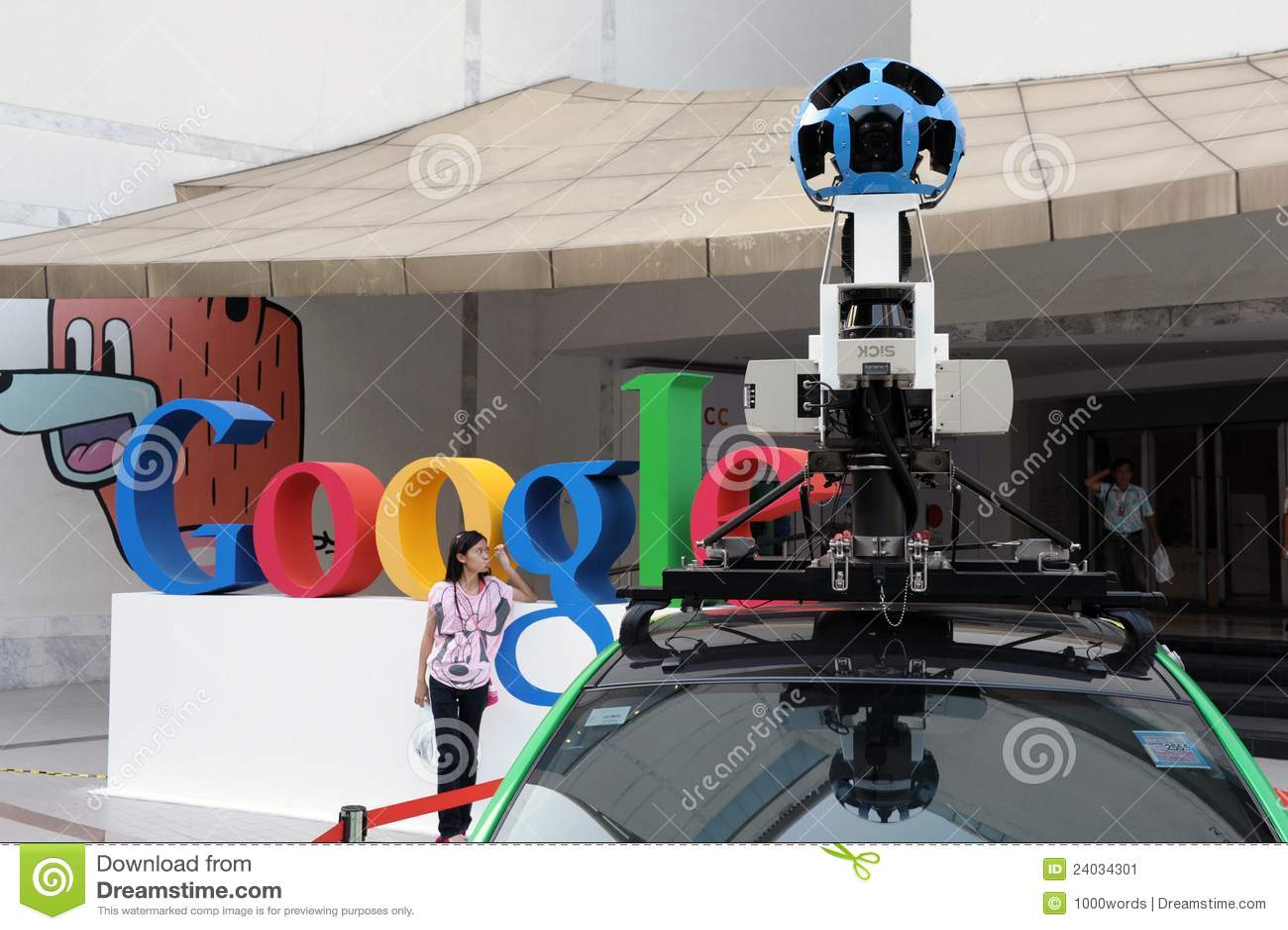 Google Maps Car In Bangkok Editorial Photo - Image: 24034301