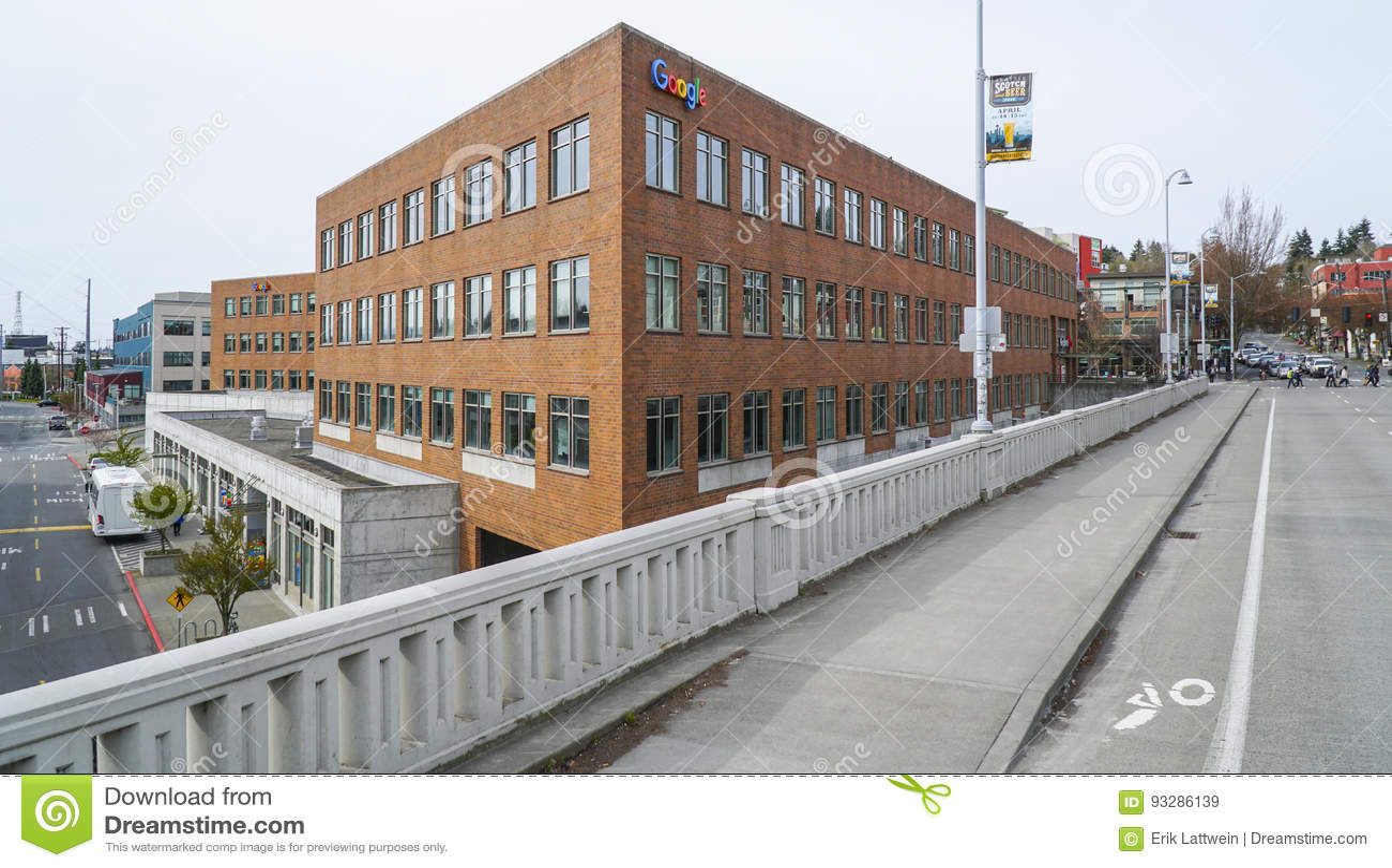 Google Maps Headquarter In Seattle - SEATTLE / WASHINGTON - APRIL 11 ...