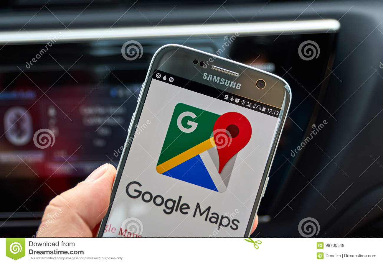 Download Google Maps Mobile on