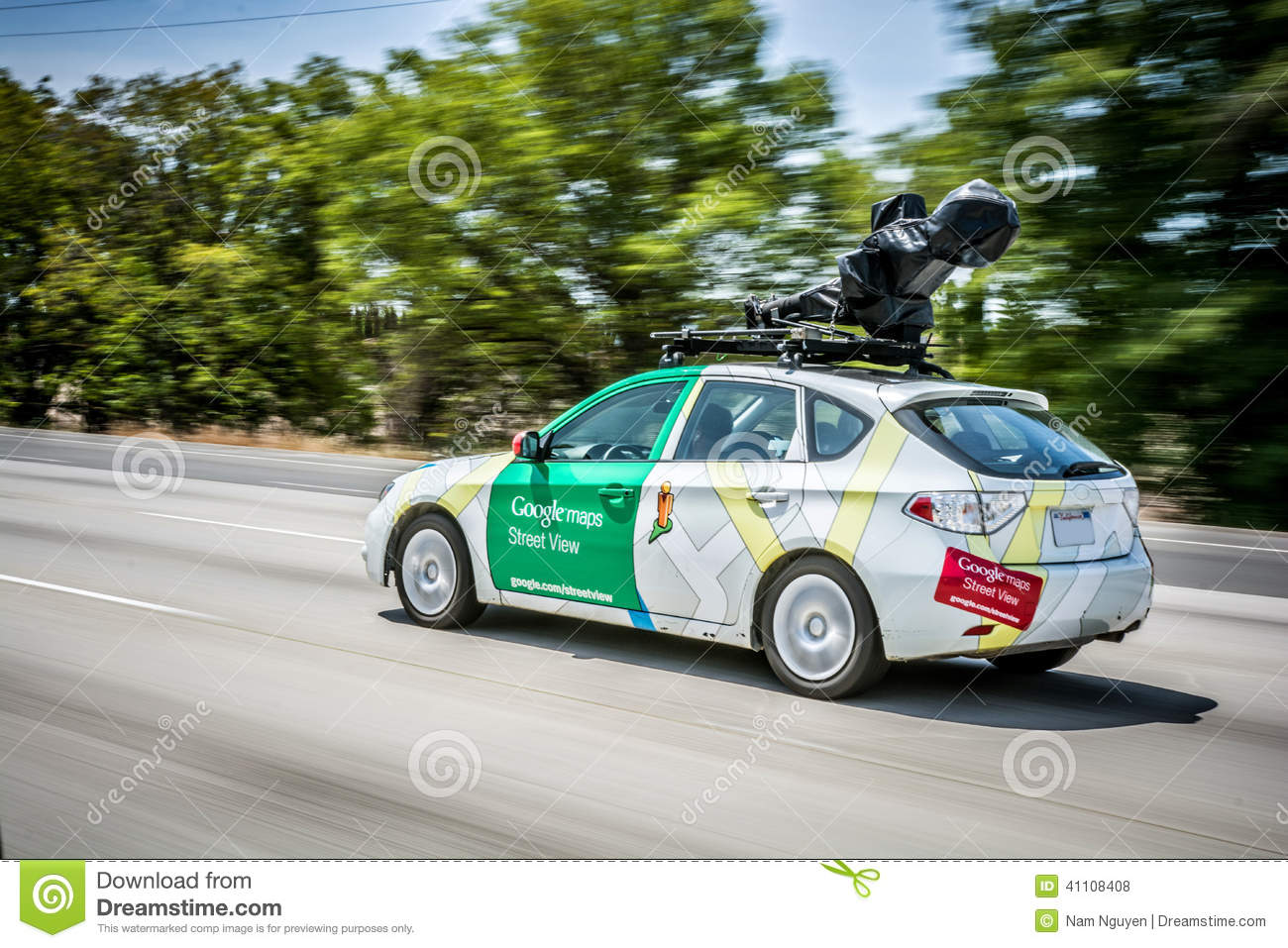 Google Maps Street View Car Editorial Stock Photo Image Of