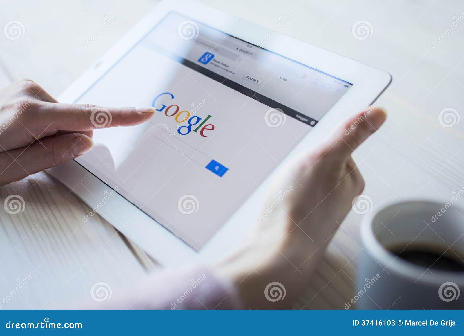 Google na ipad