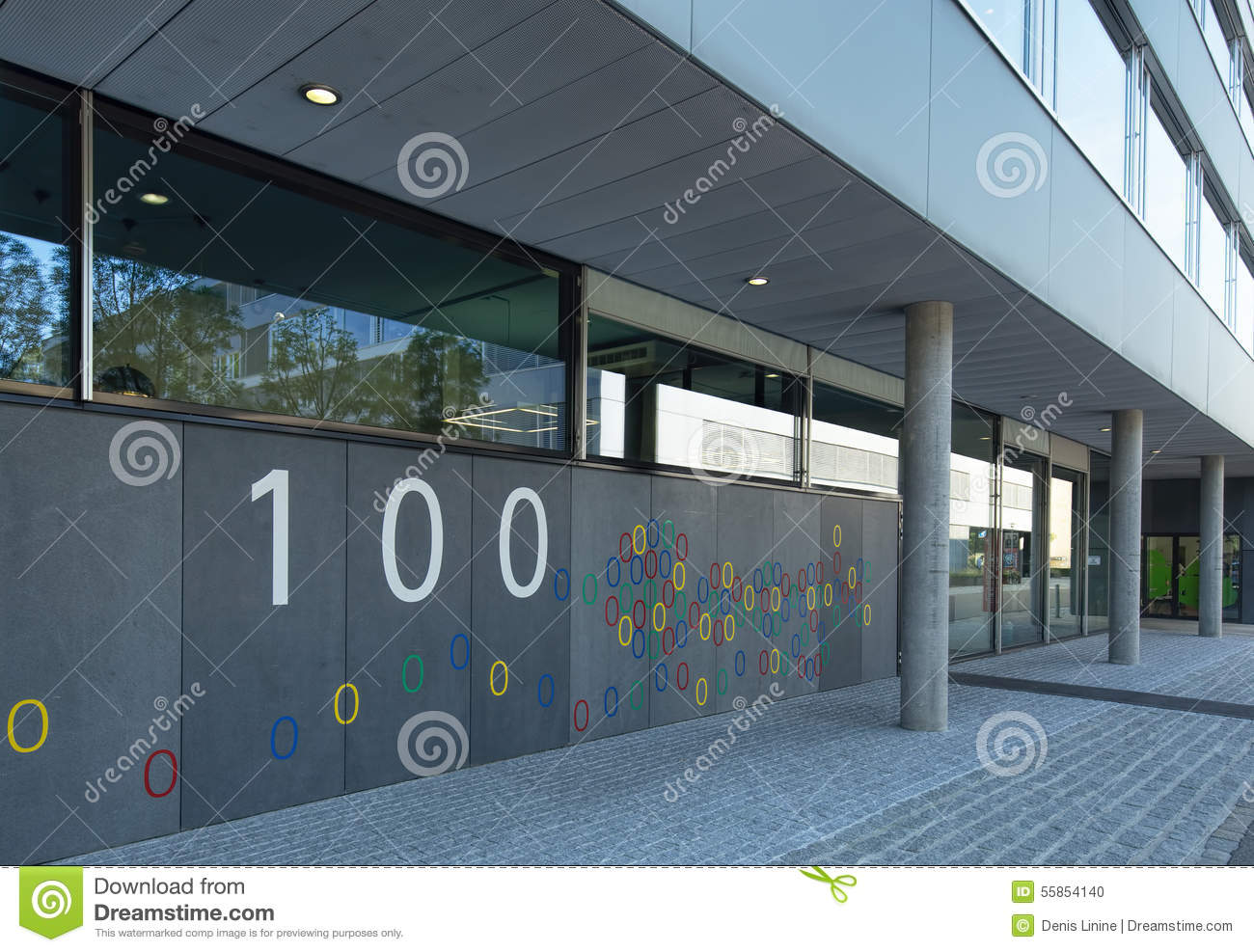 Google Office In Switzerland On Google Office In Zurich Editorial Image Image Of Europe 55854140
