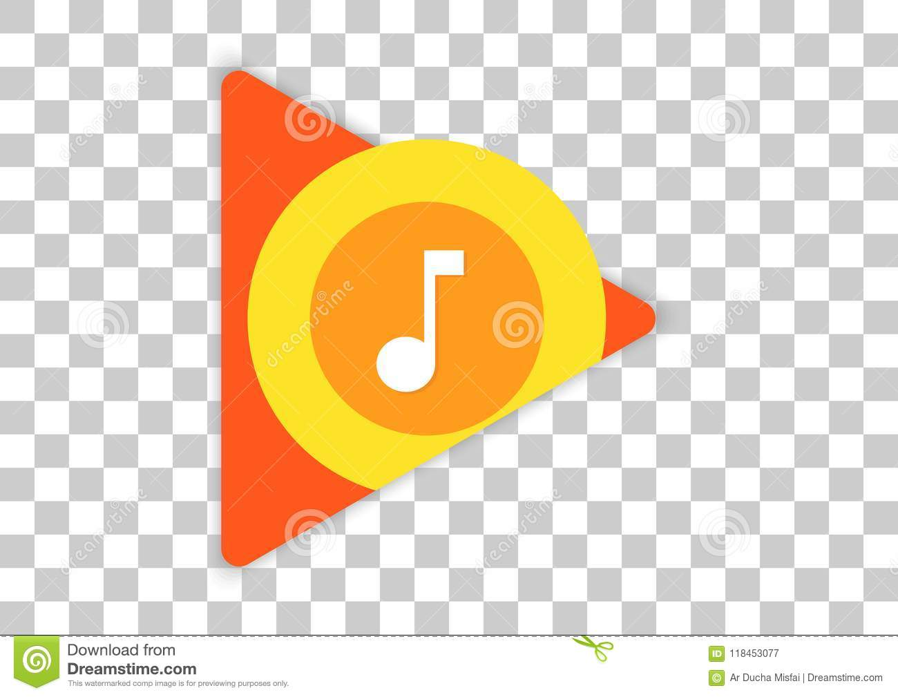 Google play music apk icon editorial photography