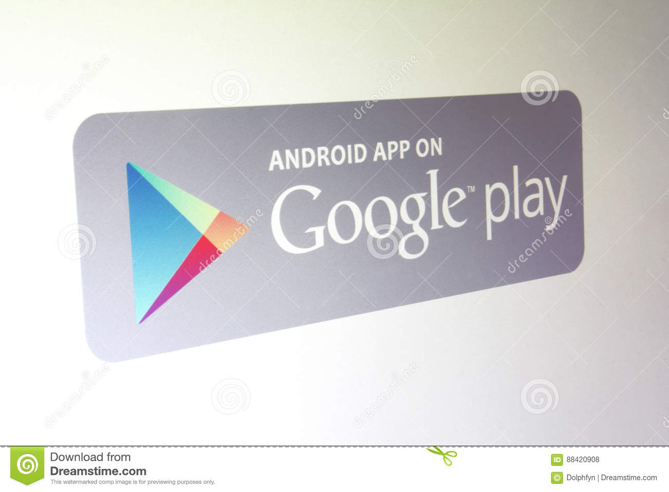 Google Play store editorial stock photo  Image of technology