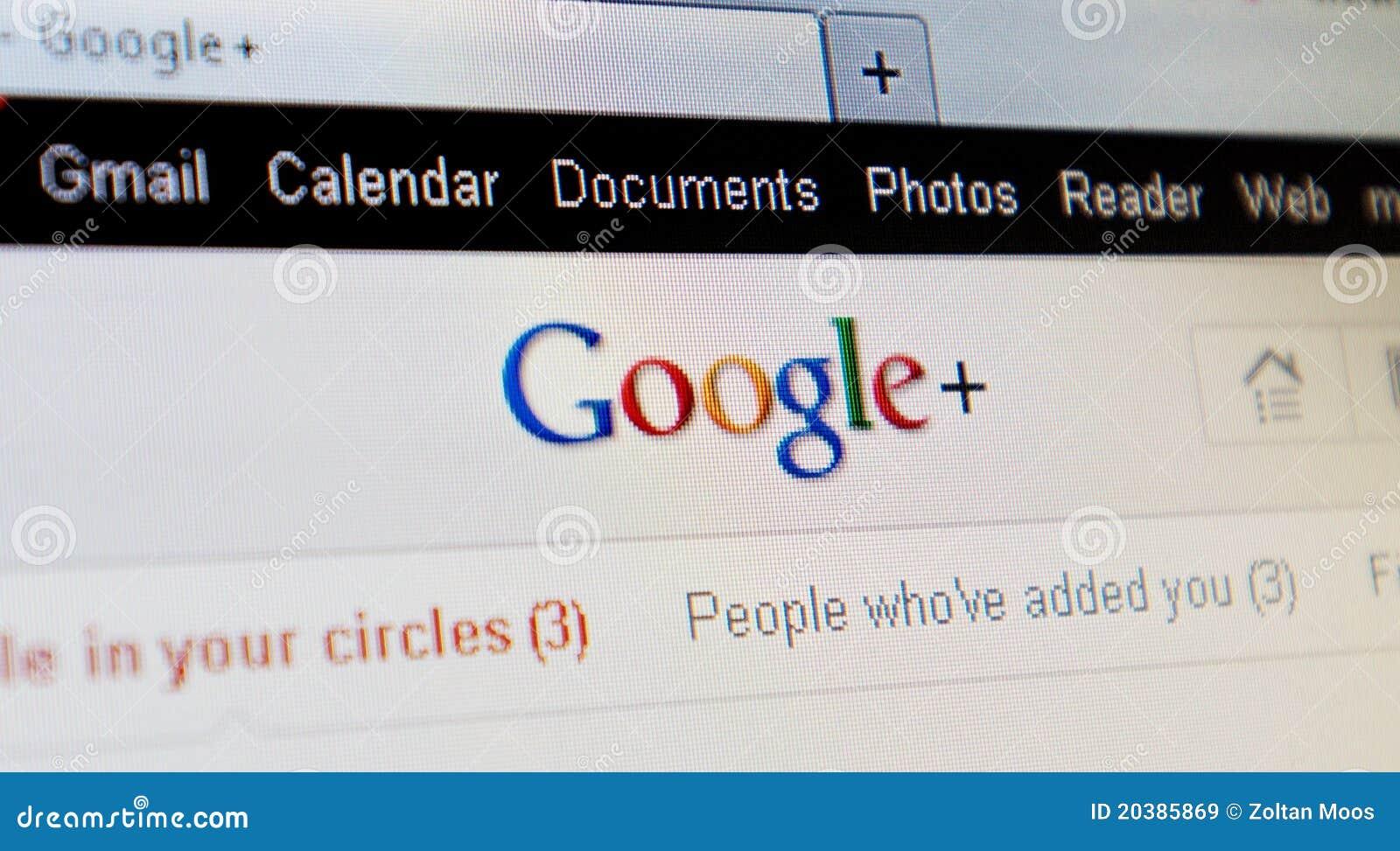 Google+ plus project