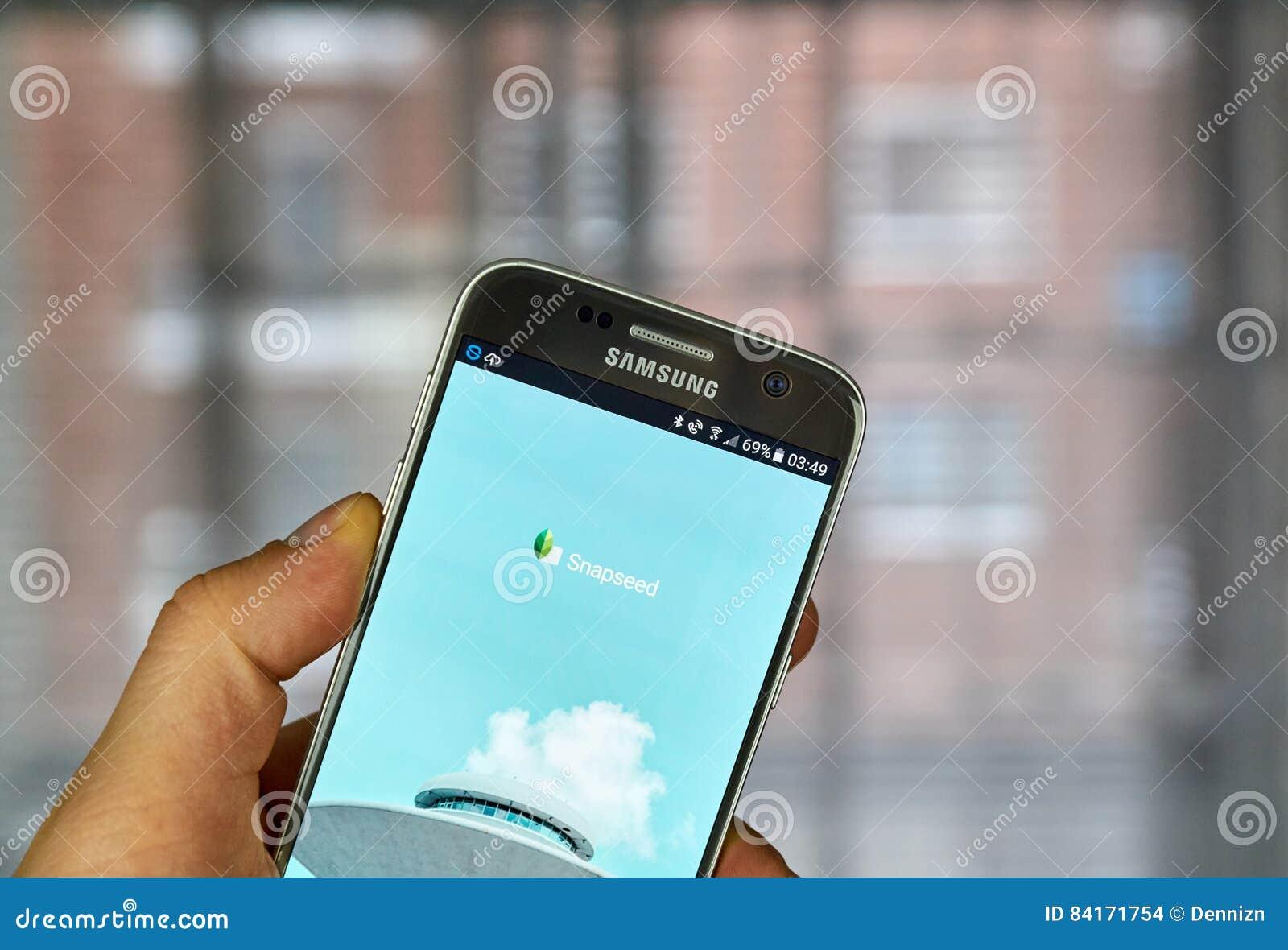 Google Snapseed app editorial stock image  Image of modern