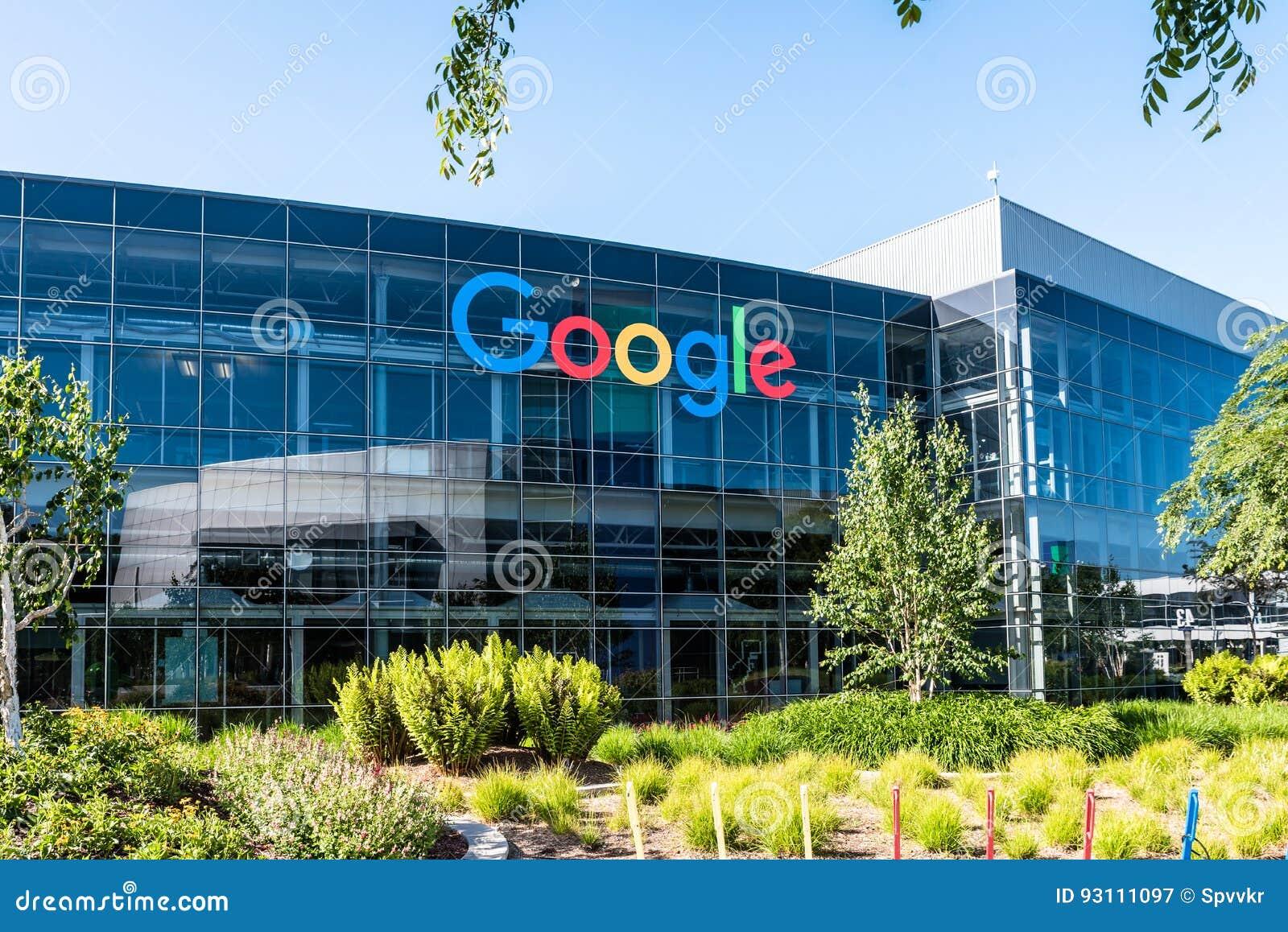 Googleplex -谷歌总部在加利福尼亚